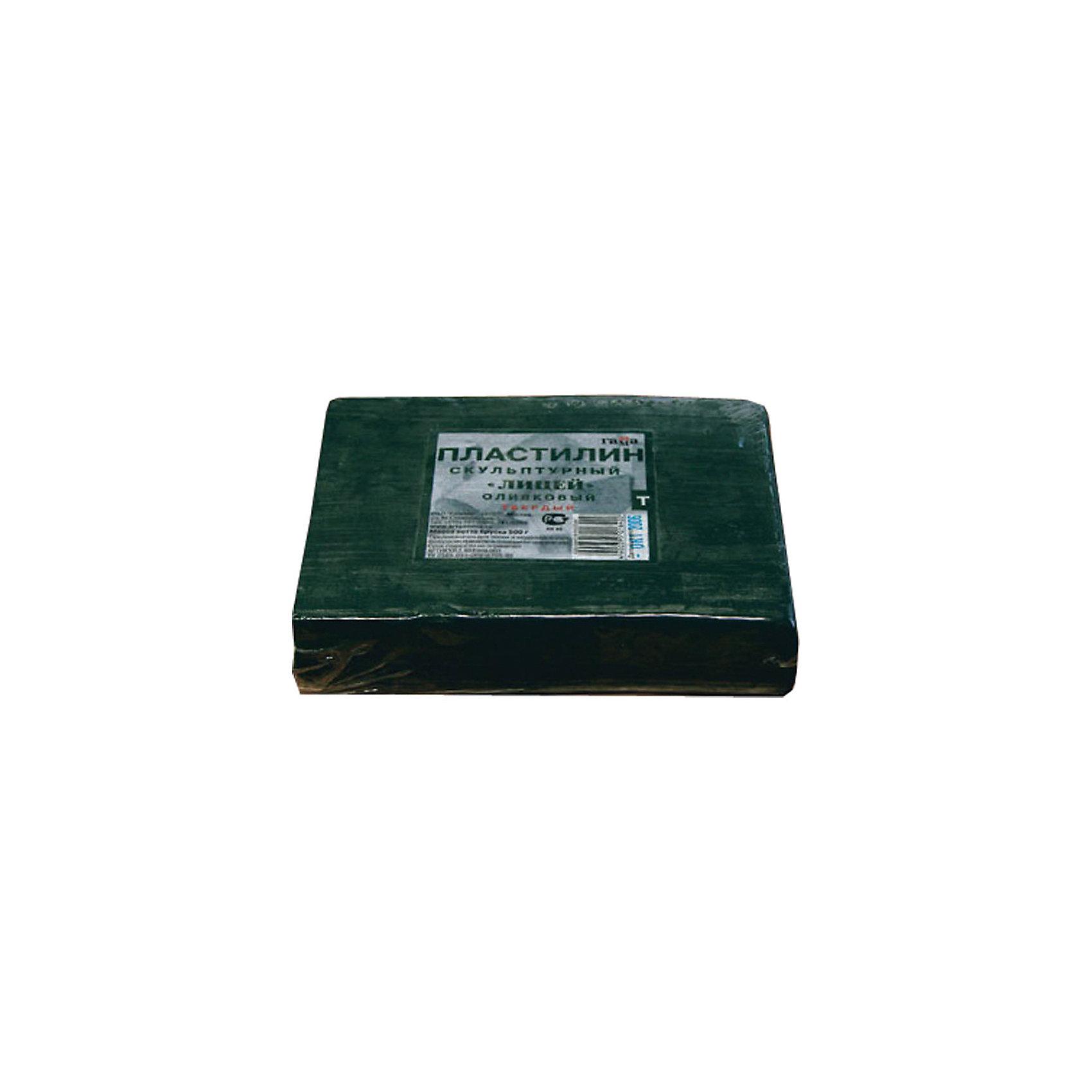 Пластилин скульптурный оливковый 0.5 кг, твердый ГаммаРисование и лепка<br>Характеристики:<br><br>• возраст: от 7 лет<br>• цвет: оливковый<br>• твердый<br>• вес: 500 гр.<br>• упаковка: пленка<br>• размер упаковки: 10х12х3,5 см.<br><br>Твердый скульптурный пластилин предназначен для любительских и профессиональных скульптурных работ. Сохраняя все достоинства традиционного пластилина, он пластичен в процессе моделирования и при этом идеально держит форму, что позволяет создавать из него небольшие предметы, в которых требуется очень тонкая и четкая проработка формы.<br><br>Пластилин изготовлен из воскообразной массы с добавлением минеральных пигментов и наполнителей. Устойчив к температурным изменениям.<br><br>Пластилин скульптурный оливковый 0.5 кг, твердый Гамма можно купить в нашем интернет-магазине.<br><br>Ширина мм: 105<br>Глубина мм: 115<br>Высота мм: 30<br>Вес г: 505<br>Возраст от месяцев: 84<br>Возраст до месяцев: 2147483647<br>Пол: Унисекс<br>Возраст: Детский<br>SKU: 7010506
