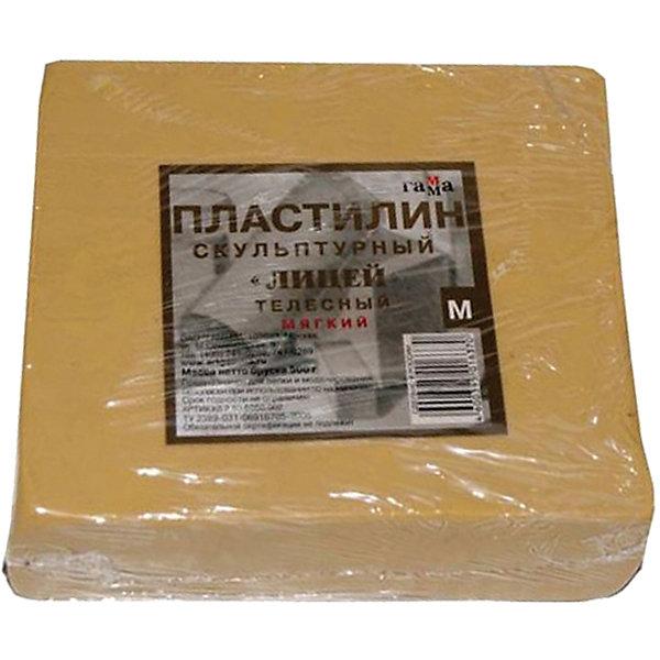 Пластилин скульптурный телесный 0.5 кг, мягкий ГаммаРисование и лепка<br>Характеристики:<br><br>• возраст: от 7 лет<br>• цвет: телесный<br>• мягкий<br>• вес: 500 гр.<br>• упаковка: пленка<br>• размер упаковки: 10,2х11,9х3,1 см.<br><br>Мягкий скульптурный пластилин предназначен для любительских и профессиональных скульптурных работ. Особо эластичный, он позволяет создавать небольшие предметы, в которых требуется очень тонкая и четкая проработка формы.<br><br>Пластилин изготовлен из воскообразной массы с добавлением минеральных пигментов и наполнителей. Устойчив к температурным изменениям.<br><br>Пластилин скульптурный телесный 0.5 кг, мягкий Гамма можно купить в нашем интернет-магазине.<br><br>Ширина мм: 105<br>Глубина мм: 115<br>Высота мм: 30<br>Вес г: 505<br>Возраст от месяцев: 84<br>Возраст до месяцев: 2147483647<br>Пол: Унисекс<br>Возраст: Детский<br>SKU: 7010508