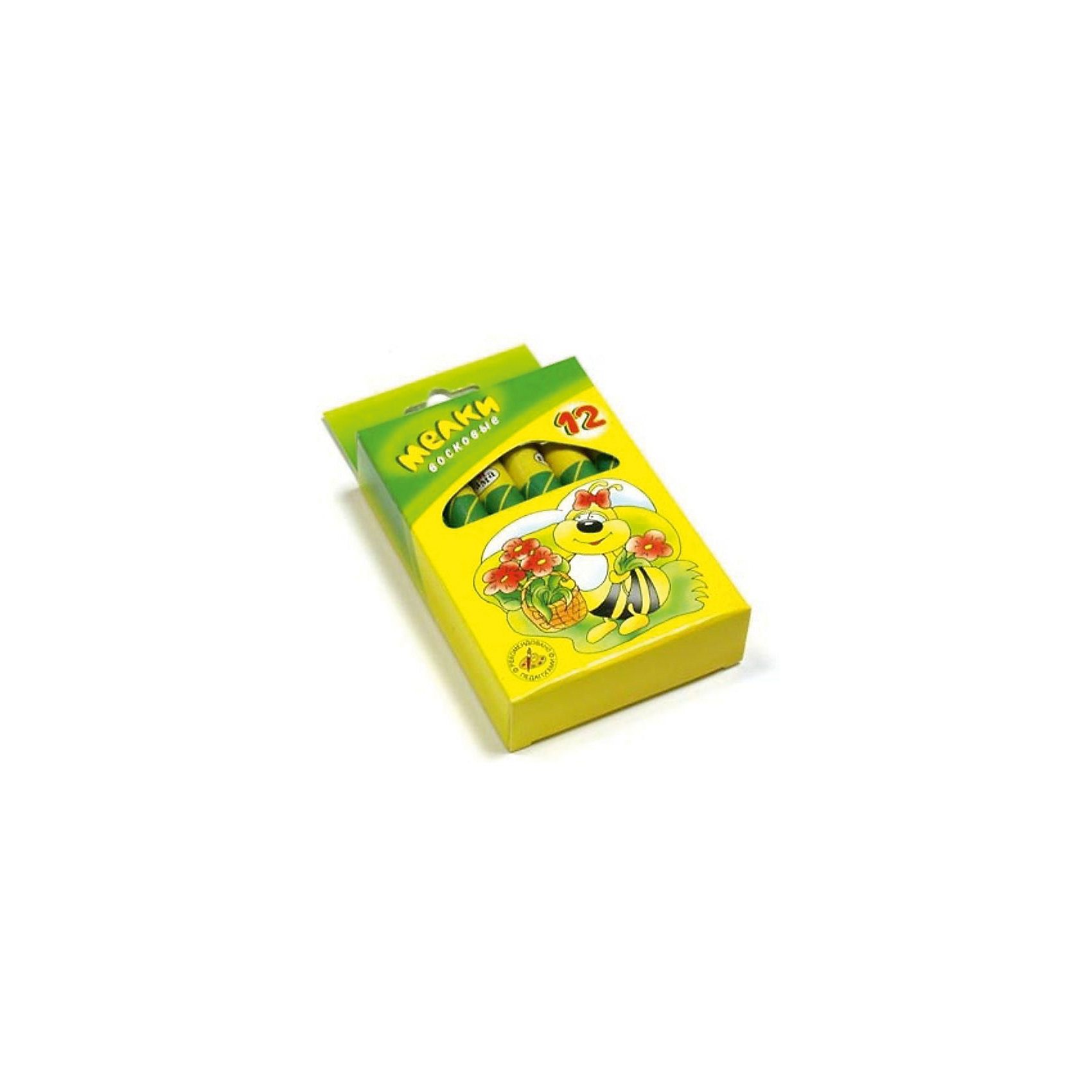 Мелки восковые 12 цветов ПЧЕЛКА 11 мм ГаммаМасляные и восковые мелки<br>Характеристики:<br><br>• возраст: от 3 лет<br>• в наборе: 12 разноцветных утолщенных восковых мелков<br>• диаметр мелка: 1,1 см.<br>• упаковка: картонная коробка с подвесом<br>• размер упаковки: 12,5х7х2,3 см.<br>• вес: 144 гр.<br><br>Мягкие утолщенные восковые мелки «Пчелка» откроют юным художникам новые горизонты для творчества.<br><br>Мелки изготовлены из экологически чистых материалов, содержат пчелиный воск.<br><br>Мелки предназначены для рисования на любой бумаге. Легко ложатся на поверхность, хорошо смешиваются между собой. Не крошатся, не ломаются.<br><br>Каждый мелок помещен в бумажную обертку, благодаря чему пальчики ребенка останутся чистыми.<br><br>Мелки восковые 12 цветов ПЧЕЛКА 11 мм Гамма можно купить в нашем интернет-магазине.<br><br>Ширина мм: 95<br>Глубина мм: 70<br>Высота мм: 25<br>Вес г: 140<br>Возраст от месяцев: 36<br>Возраст до месяцев: 2147483647<br>Пол: Унисекс<br>Возраст: Детский<br>SKU: 7010514