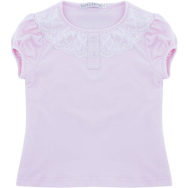 Купить Блузка Nota Bene для девочки, Россия, розовый, 122, 164, 158, 152, 146, 140, 134, 128, Женский