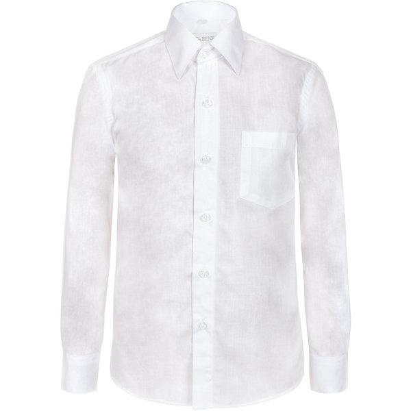 Рубашка Nota Bene для мальчикаБлузки и рубашки<br>Характеристики товара:<br><br>• цвет: белый<br>• состав: 80% хлопок, 20% полиэстер<br>• сезон: демисезон<br>• особенности модели: школьная<br>• застежка: пуговицы<br>• длинные рукава<br>• воротник: отложной<br>• страна бренда: Россия<br>• страна производства: Россия<br><br>Школьная рубашка комфортно сидит на теле благодаря преобладанию в составе материала натурального хлопка. Классическая детская рубашка с длинным рукавом имеет приталенный силуэт. Эта рубашка для ребенка соответствует школьному дресс-коду. <br><br>Рубашку Nota Bene (Нота Бене) для мальчика можно купить в нашем интернет-магазине.<br>Ширина мм: 174; Глубина мм: 10; Высота мм: 169; Вес г: 157; Цвет: белый; Возраст от месяцев: 120; Возраст до месяцев: 132; Пол: Мужской; Возраст: Детский; Размер: 146,164,158,152; SKU: 7012279;
