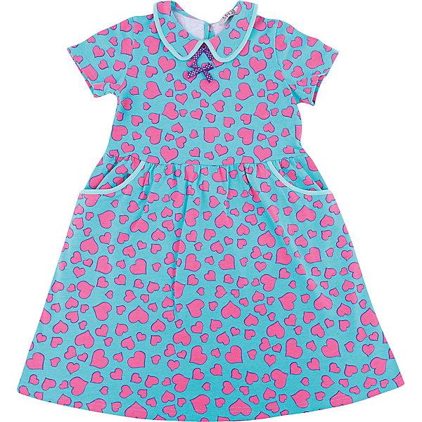 Платье M&amp;D для девочкиПлатья и сарафаны<br>Характеристики товара:<br><br>• цвет: голубой<br>• состав: 100% хлопок<br>• сезон: лето<br>• застежка: пуговица<br>• короткие рукава<br>• декор: принт, текстильные цветы<br>• страна бренда: Россия<br>• страна производства: Россия<br><br>Летнее платье дл девочки отличается оригинальным дизайном. Платье для девочки легко надевается благодаря пуговице сзади. Детское платье отлично подходит для ношения в теплую погоду. <br><br>Платье M&amp;D для девочки можно купить в нашем интернет-магазине.<br>Ширина мм: 236; Глубина мм: 16; Высота мм: 184; Вес г: 177; Цвет: голубой; Возраст от месяцев: 84; Возраст до месяцев: 96; Пол: Женский; Возраст: Детский; Размер: 128,104,98,122,116,110; SKU: 7012487;