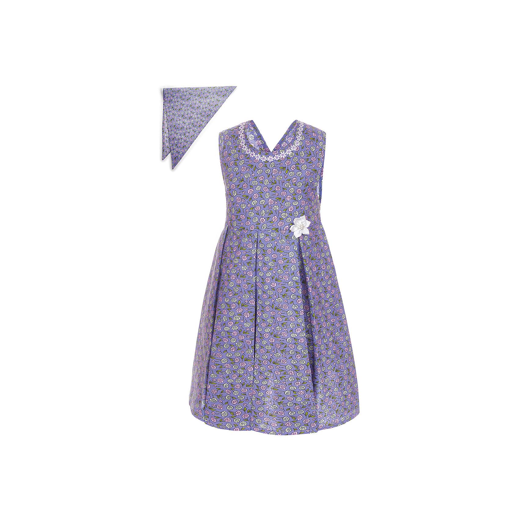 Платье M&amp;D для девочкиПлатья и сарафаны<br>Платье-сарафан для девочки из текстильного полотна.<br>С V-образным вырезом по спинке,с поясом.<br>В комплекте с косынкой.Декорировано кружевной тесьмой.<br>Соответствует размеру.<br>Рекомендуется предварительная стирка.<br>Состав:<br>100% хлопок<br><br>Ширина мм: 236<br>Глубина мм: 16<br>Высота мм: 184<br>Вес г: 177<br>Цвет: белый<br>Возраст от месяцев: 24<br>Возраст до месяцев: 36<br>Пол: Женский<br>Возраст: Детский<br>Размер: 98,104,110,116,122<br>SKU: 7012646