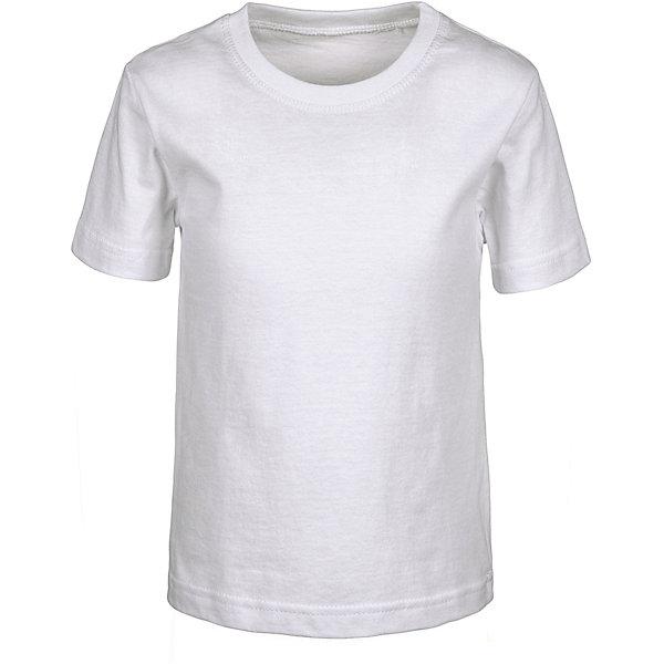 Футболка M&amp;DФутболки, поло и топы<br>Характеристики товара:<br><br>• цвет: белый<br>• состав: 100% хлопок<br>• сезон: лето<br>• короткие рукава<br>• страна бренда: Россия<br>• страна производства: Россия<br><br>Футболка для детей от M&amp;D сделана из хлопкового трикотажа. Белая футболка для детей - базовая вещь в гардеробе. Детская хлопковая футболка легко стирается и долго служит. <br><br>Футболку M&amp;D можно купить в нашем интернет-магазине.<br><br>Ширина мм: 199<br>Глубина мм: 10<br>Высота мм: 161<br>Вес г: 151<br>Цвет: белый<br>Возраст от месяцев: 84<br>Возраст до месяцев: 96<br>Пол: Унисекс<br>Возраст: Детский<br>Размер: 128,140,134,116,104,92<br>SKU: 7012739