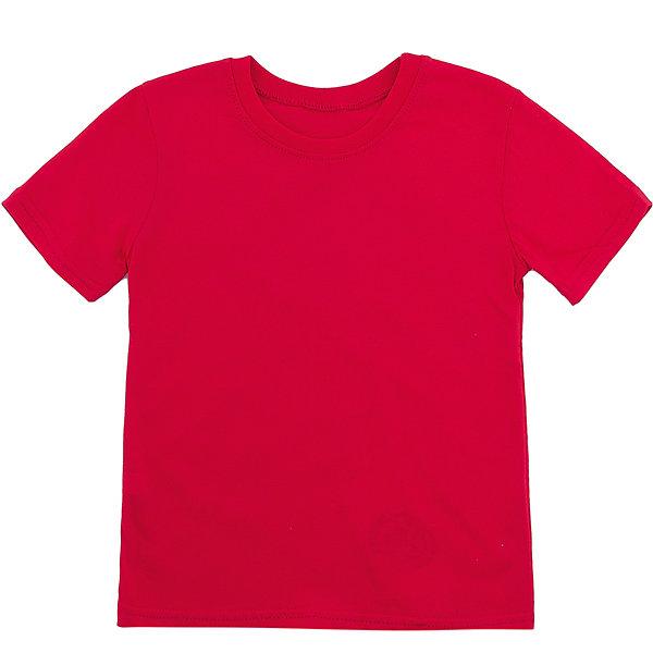 Футболка M&amp;DФутболки, поло и топы<br>Характеристики товара:<br><br>• цвет: красный<br>• состав: 100% хлопок<br>• сезон: лето<br>• короткие рукава<br>• страна бренда: Россия<br>• страна производства: Россия<br><br>Красная футболка для детей легко надевается благодаря эластичному материалу. Детская хлопковая футболка легко стирается и долго служит. Футболка для детей от M&amp;D сделана из хлопкового трикотажа. <br><br>Футболку M&amp;D можно купить в нашем интернет-магазине.<br><br>Ширина мм: 199<br>Глубина мм: 10<br>Высота мм: 161<br>Вес г: 151<br>Цвет: красный<br>Возраст от месяцев: 18<br>Возраст до месяцев: 24<br>Пол: Унисекс<br>Возраст: Детский<br>Размер: 92,104,116<br>SKU: 7012746