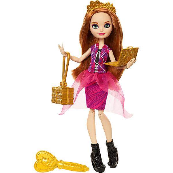 Кукла Ever After High Принцесса-школьница Холли О'ХараКуклы<br><br>Ширина мм: 325; Глубина мм: 65; Высота мм: 205; Вес г: 310; Возраст от месяцев: 72; Возраст до месяцев: 2147483647; Пол: Женский; Возраст: Детский; SKU: 7014679;