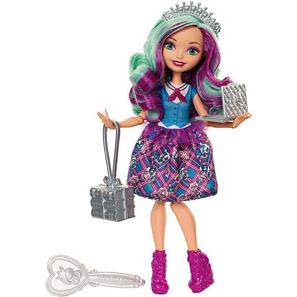 Кукла Ever After High Принцесса-школьница Мэдлин ХэттерКуклы<br><br>Ширина мм: 325; Глубина мм: 65; Высота мм: 205; Вес г: 310; Возраст от месяцев: 72; Возраст до месяцев: 2147483647; Пол: Женский; Возраст: Детский; SKU: 7014680;