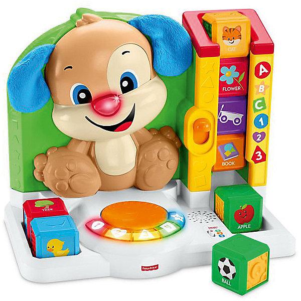 Умная панель Ученого Щенка Fisher-Price Первые слова серия Смейся и учисьИнтерактивные игрушки для малышей<br><br><br>Ширина мм: 330<br>Глубина мм: 215<br>Высота мм: 400<br>Вес г: 2494<br>Возраст от месяцев: 9<br>Возраст до месяцев: 36<br>Пол: Унисекс<br>Возраст: Детский<br>SKU: 7014712