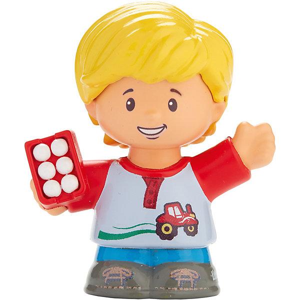 Базовая фигурка Fisher-Price Little People EddieСолдатики, люди и рыцари<br>Характеристики:<br><br>• тип игрушки: игровые и коллекционные герои;<br>• страна изготовления: Китай;<br>• размер: 9х5х6 см;<br>• бренд: Mattel;<br>• упаковка: блистер;<br>• вес: 61 гр;<br>• возраст: от 1 года;<br>• материал: пластик.<br><br>Базовая фигурка Fisher-Price Little People Eddie представляет из себя увлекательную коллекционную игрушку из знаменитого мультфильма. Такую игрушку можно подарить ребенку от года.  <br><br>Ирушки из этой серии станут прекрасным подарком для малышей. Игрушки в точности повторяют характерные особенности профессии, поэтому с их помощью легко разыграть люые тематические истории. В данной серии представлены игрушки , которые напомнят детям любимых героев и станут основой для увлекательного тематического развлечения. <br><br>Игры с такими героями станут прекрасными тренировками не только мелкой моторики рук детей, но и фантазии ребенка. Игрушки изготовлены из сертифицированного, ударопрочного пластика, который окрашен стойкими и нетоксичными красителями.<br><br>Базовую фигурку Fisher-Price Little People Eddie можно купить в нашем интернет-магазине.<br>Ширина мм: 90; Глубина мм: 50; Высота мм: 60; Вес г: 61; Возраст от месяцев: 12; Возраст до месяцев: 60; Пол: Унисекс; Возраст: Детский; SKU: 7014722;