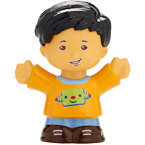 Базовая фигурка Fisher-Price Little People KobyСолдатики, люди и рыцари<br>Характеристики:<br><br>• тип игрушки: игровые и коллекционные герои;<br>• страна изготовления: Китай;<br>• размер: 9х5х6 см;<br>• бренд: Mattel;<br>• упаковка: блистер;<br>• вес: 61 гр;<br>• возраст: от 1 года;<br>• материал: пластик.<br><br>Базовая фигурка Fisher-Price Little People Koby представляет из себя увлекательную коллекционную игрушку из знаменитого мультфильма. Такую игрушку можно подарить ребенку от года.  <br><br>Ирушки из этой серии станут прекрасным подарком для малышей. Игрушки в точности повторяют характерные особенности профессии, поэтому с их помощью легко разыграть люые тематические истории. В данной серии представлены игрушки , которые напомнят детям любимых героев и станут основой для увлекательного тематического развлечения. <br><br>Игры с такими героями станут прекрасными тренировками не только мелкой моторики рук детей, но и фантазии ребенка. Игрушки изготовлены из сертифицированного, ударопрочного пластика, который окрашен стойкими и нетоксичными красителями.<br><br>Базовую фигурку Fisher-Price Little People Koby можно купить в нашем интернет-магазине.<br>Ширина мм: 90; Глубина мм: 50; Высота мм: 60; Вес г: 61; Возраст от месяцев: 12; Возраст до месяцев: 60; Пол: Унисекс; Возраст: Детский; SKU: 7014725;