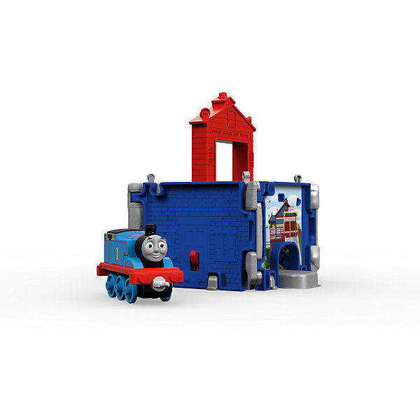 Купить Переносной набор Томас и его друзья Куб Томас в спасательном центре, , Mattel, Китай, Унисекс