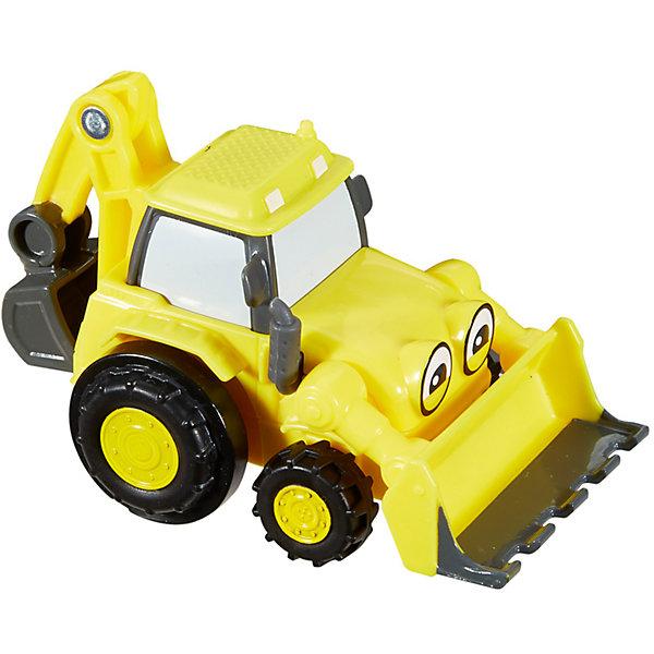 Инерционное транспортное средство Fisher-Price Боб-строительСельскохозяйственный транспорт<br>Характеристики:<br><br>• тип игрушки: транспортное средство;<br>• возраст: от 3 лет;<br>• вес: 90 гр; <br>• материал: пластик;<br>• размер: 6х6х9 см;<br>• бренд: Mattel.<br><br>Инерционное транспортное средство Fisher-Price Боб-строитель - трудолюбивая строительная машина, готовая выполнить любую работу. Просто оттяни Скупа назад, отпусти и смотри, как он помчится на стройплощадку. Снабженная обратной лопатой и передним ковшом, эта машина готова помочь Бобу-строителю выполнить любую работу — большую или маленькую! <br><br>Скуп снабжен регулируемым передним ковшом и задней лопатой. Можно собрать всю коллекцию инерционных машинок и весело играть с друзьями.<br><br>Инерционное транспортное средство Fisher-Price Боб-строитель  можно купить в нашем интернет-магазине.<br>Ширина мм: 60; Глубина мм: 60; Высота мм: 90; Вес г: 90; Возраст от месяцев: 36; Возраст до месяцев: 2147483647; Пол: Унисекс; Возраст: Детский; SKU: 7014777;