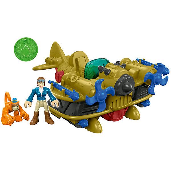Фигурка с аксессуарами Fisher-Price Imaginext Расхитители гробниц: Bi-Plane BomberИгровые наборы с фигурками<br>Характеристики:<br><br>• тип игрушки: фигурка;<br>• возраст: от 3 лет;<br>• вес: 349 гр; <br>• материал: пластик;<br>• размер: 19х10х21,5 см;<br>• бренд: Mattel.<br><br>Фигурка с аксессуарами Fisher-Price Imaginext «Расхитители гробниц: Bi-Plane Bomber» создана по мотивам фильма. В наборе есть несколько фигурок и удивительный бомбардировщик. Красная кнопка позволяет стрелять снарядами, а триггер приводит в движение пропеллеры.Наборы для игры позволяют развить мелкую моторику, усидчивость и воображение. <br><br>Фигурку с аксессуарами Fisher-Price Imaginext «Расхитители гробниц: Bi-Plane Bomber»  можно купить в нашем интернет-магазине.<br>Ширина мм: 190; Глубина мм: 100; Высота мм: 215; Вес г: 349; Возраст от месяцев: 36; Возраст до месяцев: 96; Пол: Унисекс; Возраст: Детский; SKU: 7014797;