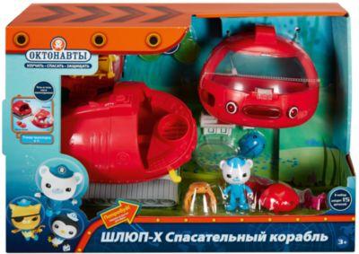Mattel Подводная лодка Шлюп-X Fisher-Price Октонавты