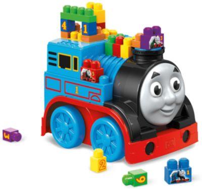 Mattel Большой паровоз - конструктор, MEGA BLOKS Томас и друзья