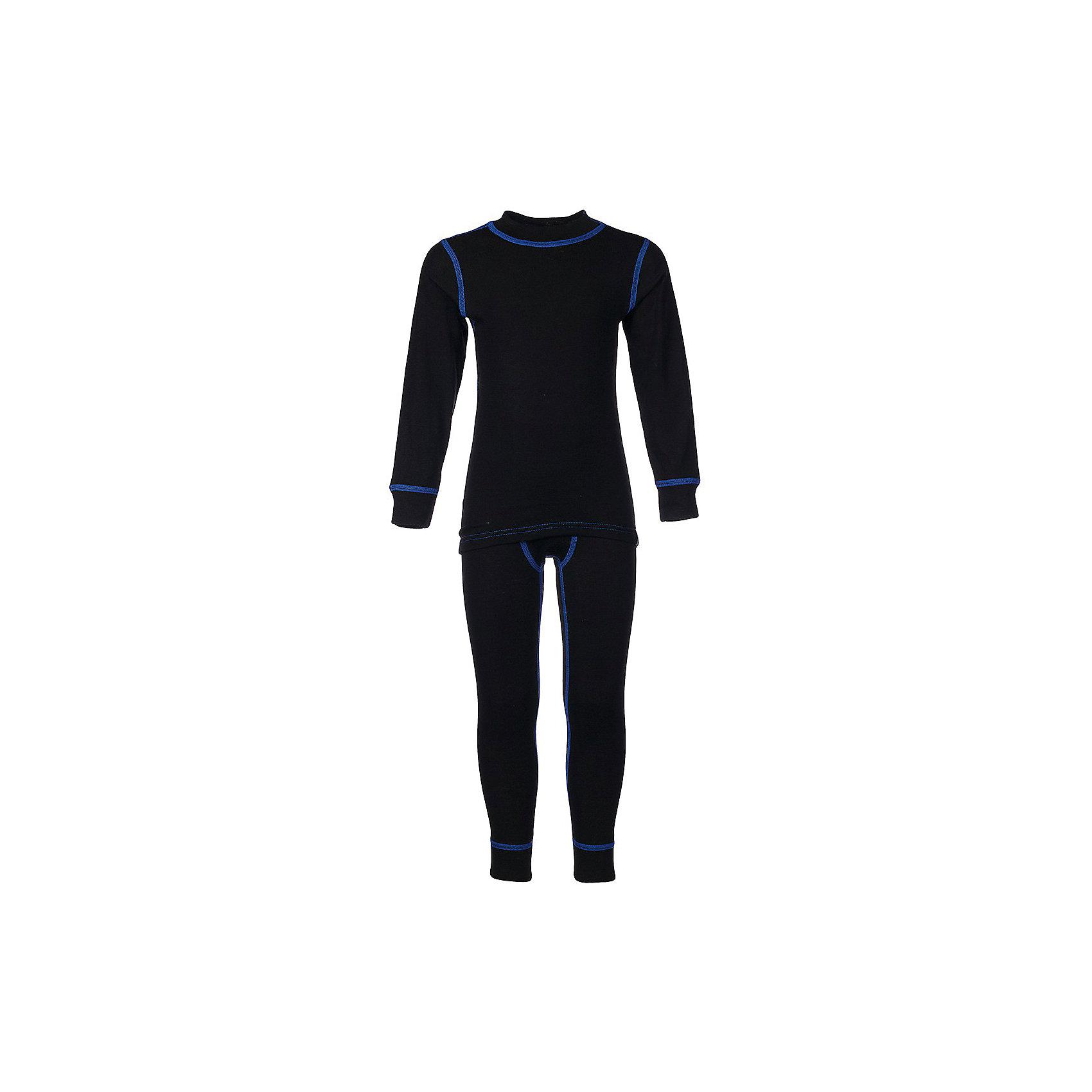 Комплект термобелья  OLDOS для мальчикаФлис и термобелье<br>Характеристики товара:<br><br>• цвет: черный<br>• комплектация: кальсоны и лонгслив<br>• состав ткани: 100% полиэстер<br>• сезон: зима<br>• температурный режим: от -25 до +5<br>• особенности модели: термобелье<br>• пояс: резинка<br>• длинные рукава<br>• с начесом<br>• страна бренда: Россия<br>• страна изготовитель: Россия<br><br>Черный детский комплект термобелья состоит из леггинсов и лонгслива. Комплект термобелья для мальчика сшит из теплого эластичного материала. Обеспечить ребенку в холода комфорт и тепло поможет комплект термобелья. Швы на детском термобелье мягкие, не натирают.<br><br>Комплект термобелья Oldos (Олдос) для мальчика можно купить в нашем интернет-магазине.<br><br>Ширина мм: 215<br>Глубина мм: 88<br>Высота мм: 191<br>Вес г: 336<br>Цвет: черный<br>Возраст от месяцев: 156<br>Возраст до месяцев: 168<br>Пол: Мужской<br>Возраст: Детский<br>Размер: 164,146,104,110,116,122,128,134,140,152,158<br>SKU: 7015254