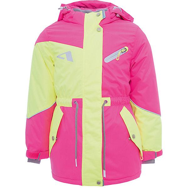 Куртка Кира OLDOS ACTIVE для девочкиВерхняя одежда<br>Характеристики товара:<br><br>• цвет: желтый<br>• состав ткани: полиэстер, Teflon<br>• подкладка: флис<br>• утеплитель: Hollofan pro<br>• сезон: зима<br>• мембрана<br>• температурный режим: от -30 до +5<br>• водонепроницаемость: 5000 мм <br>• паропроницаемость: 5000 г/м2<br>• плотность утеплителя: 200 г/м2<br>• застежка: молния<br>• капюшон: без меха, съемный<br>• страна бренда: Россия<br>• страна изготовитель: Россия<br><br>Модная куртка Oldos для девочки рассчитана даже на сильные морозы. Непромокаемый и непродуваемый верх детской куртки создает комфортный для ребенка микроклимат. <br><br>Потрясающе практичная и технологичная удлиненная парка из зимней коллекции OLDOS ACTIVE. Покрытие Teflon: защита от воды и грязи, износостойкость, за изделием легко ухаживать. Мембрана 5000/5000 обеспечивает водонепроницаемость, отвод влаги и комфортную атмосферу внутри костюма. <br><br>Гипоаллергенный утеплитель HOLLOFAN PRO 200 г/м2 -  тоньше обычного, зато эффективнее удерживает тепло и дарит свободу движения. Подкладка флисовый (в рукавах гладкий п/э для легкости одевания). Температурный режим (-30 С...+5 С). Парка прекрасно защитит от ветра и снега благодаря воротнику-стойке, ветрозащитным планкам, снего-ветрозащитной юбке; манжета регулируется по ширине липучкой. Дополнительно в рукавах есть эластичные манжеты с отверстием для большого пальца! Спинка удлиненная, низ куртки и талия регулируются по ширине. Капюшон съемный с регулировкой объема. Карманы на молнии, есть внутренний кармашек на липучке. Светоотражающие элементы.<br><br>Куртку Кира Oldos (Олдос) для девочки можно купить в нашем интернет-магазине.<br><br>Ширина мм: 356<br>Глубина мм: 10<br>Высота мм: 245<br>Вес г: 519<br>Цвет: желтый<br>Возраст от месяцев: 24<br>Возраст до месяцев: 36<br>Пол: Женский<br>Возраст: Детский<br>Размер: 98,116,110,104<br>SKU: 7015609