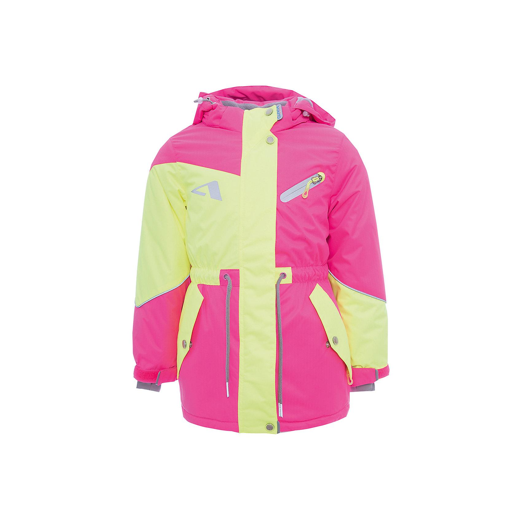 Куртка Кира OLDOS для девочкиВерхняя одежда<br>Характеристики товара:<br><br>• цвет: желтый<br>• состав ткани: полиэстер, Teflon<br>• подкладка: флис<br>• утеплитель: Hollofan pro<br>• сезон: зима<br>• мембранное покрытие<br>• температурный режим: от -30 до +5<br>• водонепроницаемость: 5000 мм <br>• паропроницаемость: 5000 г/м2<br>• плотность утеплителя: 200 г/м2<br>• застежка: молния<br>• капюшон: без меха, съемный<br>• страна бренда: Россия<br>• страна изготовитель: Россия<br><br>Эта мембранная зимняя куртка для ребенка отличается продуманным дизайном. Детская зимняя куртка создана с применением мембранной технологии. Модная куртка Oldos для девочки рассчитана даже на сильные морозы. Непромокаемый и непродуваемый верх детской куртки создает комфортный для ребенка микроклимат. <br><br>Куртку Кира Oldos (Олдос) для девочки можно купить в нашем интернет-магазине.<br><br>Ширина мм: 356<br>Глубина мм: 10<br>Высота мм: 245<br>Вес г: 519<br>Цвет: желтый<br>Возраст от месяцев: 60<br>Возраст до месяцев: 72<br>Пол: Женский<br>Возраст: Детский<br>Размер: 116,98,104,110<br>SKU: 7015609