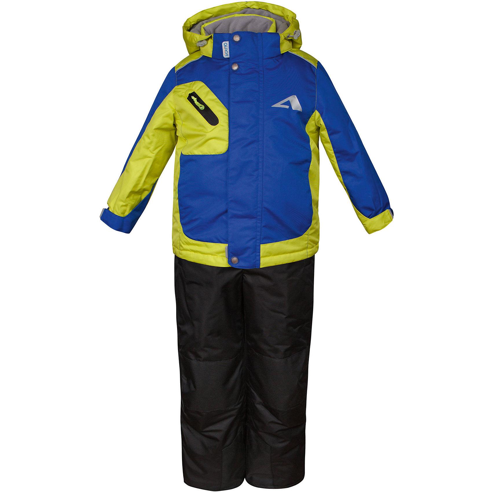 Комплект: куртка и полукомбинезон Ларс OLDOS для мальчикаВерхняя одежда<br>Характеристики товара:<br><br>• цвет: зеленый<br>• комплектация: куртка и полукомбинезон<br>• состав ткани: полиэстер, Teflon<br>• подкладка: флис<br>• утеплитель: Hollofan pro<br>• сезон: зима<br>• мембранное покрытие<br>• температурный режим: от -30 до +5<br>• водонепроницаемость: 5000 мм <br>• паропроницаемость: 5000 г/м2<br>• плотность утеплителя: куртка - 200 г/м2, полукомбинезон - 150 г/м2<br>• застежка: молния<br>• капюшон: без меха, съемный<br>• полукомбинезон усилен износостойкими вставками<br>• страна бренда: Россия<br>• страна изготовитель: Россия<br><br>Легкий и теплый зимний комплект выделяется стильным дизайном и качественными материалами. Детский комплект для мальчика дополнен элементами, помогающими скорректировать размер точно под ребенка. Детский зимний комплект создан с применением мембранной технологии, поэтому обеспечивает отличную терморегуляцию. <br><br>Комплект: куртка и полукомбинезон Ларс Oldos (Олдос) для мальчика можно купить в нашем интернет-магазине.<br><br>Ширина мм: 356<br>Глубина мм: 10<br>Высота мм: 245<br>Вес г: 519<br>Цвет: синий<br>Возраст от месяцев: 18<br>Возраст до месяцев: 24<br>Пол: Мужской<br>Возраст: Детский<br>Размер: 92,140,134,128,122,116,110,104,98<br>SKU: 7015696