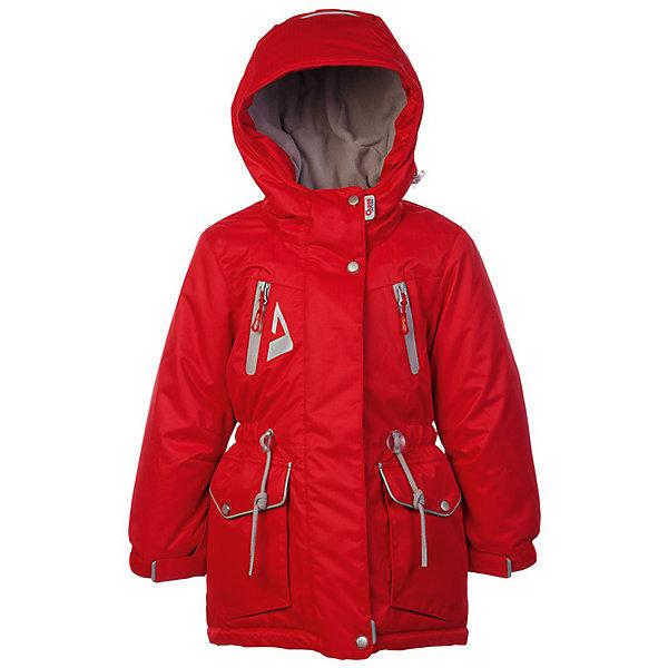 Куртка Киара OLDOS ACTIVE для девочкиВерхняя одежда<br>Характеристики товара:<br><br>• цвет: красный<br>• состав ткани: полиэстер, Teflon<br>• подкладка: флис<br>• утеплитель: Hollofan pro<br>• сезон: зима<br>• мембрана<br>• температурный режим: от -30 до +5<br>• водонепроницаемость: 5000 мм <br>• паропроницаемость: 5000 г/м2<br>• плотность утеплителя: 200 г/м2<br>• застежка: молния<br>• капюшон: без меха<br>• страна бренда: Россия<br>• страна изготовитель: Россия<br><br>Мембранная зимняя куртка для ребенка отличается продуманным дизайном. Талия и низ куртки регулируются по ширине. Детская зимняя куртка создана с применением мембранной технологии. Непромокаемый и непродуваемый верх детской куртки создает комфортный для ребенка режим терморегуляции. <br><br>Внешнее покрытие TEFLON - защита от воды и грязи, износостойкость, за изделием легко ухаживать. Мембрана 5000/5000 обеспечивает водонепроницаемость, одежда дышит. Гипоаллергенный утеплитель HOLLOFAN PRO  200 г/м2 - тоньше обычного, но эффективнее удерживает тепло и дарит свободу движения. Подкладка - флис, в рукавах гладкий полиэстер. <br><br>Карманы на молнии, внутренний карман с нашивкой-потеряшкой. Парка имеет светоотражающие элементы. Изделие прекрасно защитит от ветра и снега, т.к. имеет ряд особенностей: капюшон с регулировкой объема, ветрозащитные планки, снего-ветрозащитная юбка. Манжеты рукавов регулируются по ширине, есть эластичные манжеты с отверстием для большого пальца. Талия и низ куртки регулируются по ширине.<br><br>Куртку Киара Oldos (Олдос) для девочки можно купить в нашем интернет-магазине.<br>Ширина мм: 356; Глубина мм: 10; Высота мм: 245; Вес г: 519; Цвет: красный; Возраст от месяцев: 108; Возраст до месяцев: 120; Пол: Женский; Возраст: Детский; Размер: 140,110,158,152,146,134,128,122,116; SKU: 7015722;