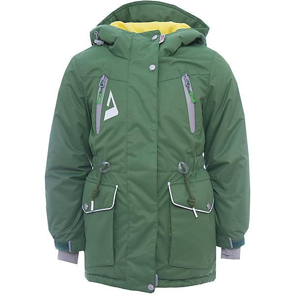 Куртка Киара OLDOS ACTIVE для девочкиВерхняя одежда<br>Характеристики товара:<br><br>• цвет: зеленый<br>• состав ткани: полиэстер, Teflon<br>• подкладка: флис<br>• утеплитель: Hollofan pro<br>• сезон: зима<br>• мембрана<br>• температурный режим: от -30 до +5<br>• водонепроницаемость: 5000 мм <br>• паропроницаемость: 5000 г/м2<br>• плотность утеплителя: 200 г/м2<br>• застежка: молния<br>• капюшон: без меха<br>• страна бренда: Россия<br>• страна изготовитель: Россия<br><br>Эта детская куртка от бренда Oldos теплая и легкая благодаря инновационным материалам. Теплая куртка для девочки дополнена элементами, помогающими подогнать её размер под ребенка. Детская зимняя куртка создана с применением мембранной технологии, она рассчитана даже на сильные морозы. <br><br>Внешнее покрытие TEFLON - защита от воды и грязи, износостойкость, за изделием легко ухаживать. Мембрана 5000/5000 обеспечивает водонепроницаемость, одежда дышит. Гипоаллергенный утеплитель HOLLOFAN PRO  200 г/м2 - тоньше обычного, но эффективнее удерживает тепло и дарит свободу движения. Подкладка - флис, в рукавах гладкий полиэстер. <br><br>Карманы на молнии, внутренний карман с нашивкой-потеряшкой. Парка имеет светоотражающие элементы. Изделие прекрасно защитит от ветра и снега, т.к. имеет ряд особенностей: капюшон с регулировкой объема, ветрозащитные планки, снего-ветрозащитная юбка. Манжеты рукавов регулируются по ширине, есть эластичные манжеты с отверстием для большого пальца. Талия и низ куртки регулируются по ширине.<br><br>Куртку Киара Oldos (Олдос) для девочки можно купить в нашем интернет-магазине.<br>Ширина мм: 356; Глубина мм: 10; Высота мм: 245; Вес г: 519; Цвет: зеленый; Возраст от месяцев: 48; Возраст до месяцев: 60; Пол: Женский; Возраст: Детский; Размер: 110,158,152,146,140,134,128,122,116; SKU: 7015727;