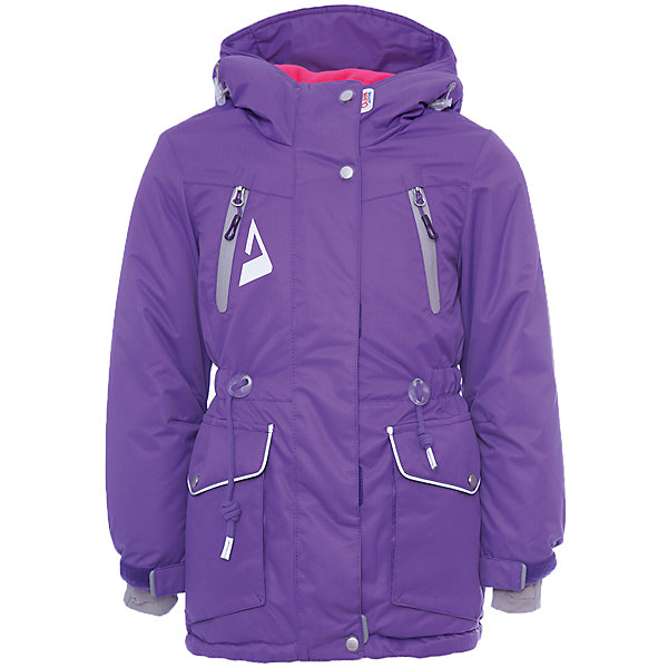 Куртка Киара OLDOS ACTIVE для девочкиВерхняя одежда<br>Характеристики товара:<br><br>• цвет: фиолетовый<br>• состав ткани: полиэстер, Teflon<br>• подкладка: флис<br>• утеплитель: Hollofan pro<br>• сезон: зима<br>• мембрана<br>• температурный режим: от -30 до +5<br>• водонепроницаемость: 5000 мм <br>• паропроницаемость: 5000 г/м2<br>• плотность утеплителя: 200 г/м2<br>• застежка: молния<br>• капюшон: без меха<br>• страна бренда: Россия<br>• страна изготовитель: Россия<br><br>Утепленная зимняя куртка создана с применением мембранной технологии. Непромокаемый и непродуваемый верх детской куртки создает комфортный для ребенка режим терморегуляции. Мембранная зимняя куртка для ребенка отличается продуманным дизайном. Талия и низ куртки регулируются по ширине. <br><br>Внешнее покрытие TEFLON - защита от воды и грязи, износостойкость, за изделием легко ухаживать. Мембрана 5000/5000 обеспечивает водонепроницаемость, одежда дышит. Гипоаллергенный утеплитель HOLLOFAN PRO  200 г/м2 - тоньше обычного, но эффективнее удерживает тепло и дарит свободу движения. Подкладка - флис, в рукавах гладкий полиэстер. <br><br>Карманы на молнии, внутренний карман с нашивкой-потеряшкой. Парка имеет светоотражающие элементы. Изделие прекрасно защитит от ветра и снега, т.к. имеет ряд особенностей: капюшон с регулировкой объема, ветрозащитные планки, снего-ветрозащитная юбка. Манжеты рукавов регулируются по ширине, есть эластичные манжеты с отверстием для большого пальца. Талия и низ куртки регулируются по ширине.<br><br>Куртку Киара Oldos (Олдос) для девочки можно купить в нашем интернет-магазине.<br>Ширина мм: 356; Глубина мм: 10; Высота мм: 245; Вес г: 519; Цвет: лиловый; Возраст от месяцев: 36; Возраст до месяцев: 48; Пол: Женский; Возраст: Детский; Размер: 104,158,152,146,140,134,128,122,116,110; SKU: 7015738;