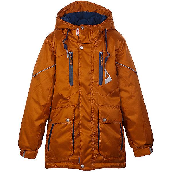 Куртка Франц OLDOS ACTIVE для мальчикаВерхняя одежда<br>Характеристики товара:<br><br>• цвет: оранжевый<br>• состав ткани: полиэстер, Teflon<br>• подкладка: флис<br>• утеплитель: Hollofan pro<br>• сезон: зима<br>• мембрана<br>• температурный режим: от -30 до +5<br>• водонепроницаемость: 5000 мм <br>• паропроницаемость: 5000 г/м2<br>• плотность утеплителя: 200 г/м2<br>• застежка: молния<br>• капюшон: без меха<br>• страна бренда: Россия<br>• страна изготовитель: Россия<br><br>Мембранная детская куртка от бренда Oldos теплая и легкая благодаря инновационным материалам. Стильная парка для мальчика дополнена элементами, помогающими отрегулировать её размер под рост ребенка. Детская зимняя куртка создана с применением мембранной технологии, она рассчитана даже на сильные морозы. <br><br>Внешнее покрытие TEFLON - защита от воды и грязи, износостойкость, за изделием легко ухаживать. Мембрана 5000/5000 обеспечивает водонепроницаемость, одежда дышит. Гипоаллергенный утеплитель HOLLOFAN PRO  200 г/м2 - тоньше обычного, но эффективнее удерживает тепло и дарит свободу движения. Подкладка - флис, в рукавах гладкий полиэстер. <br><br>Карманы на молнии, внутренний карман с нашивкой-потеряшкой. Парка имеет светоотражающие элементы. Изделие прекрасно защитит от ветра и снега, т.к. имеет ряд особенностей: капюшон с регулировкой объема, ветрозащитные планки, снего-ветрозащитная юбка. Манжеты рукавов регулируются по ширине, есть эластичные манжеты с отверстием для большого пальца. Талия и низ куртки регулируются по ширине.<br><br>Куртку Франц Oldos (Олдос) для мальчика можно купить в нашем интернет-магазине.<br>Ширина мм: 356; Глубина мм: 10; Высота мм: 245; Вес г: 519; Цвет: оранжевый; Возраст от месяцев: 84; Возраст до месяцев: 96; Пол: Мужской; Возраст: Детский; Размер: 128,116,146,158,152,146,140,134,122; SKU: 7015762;