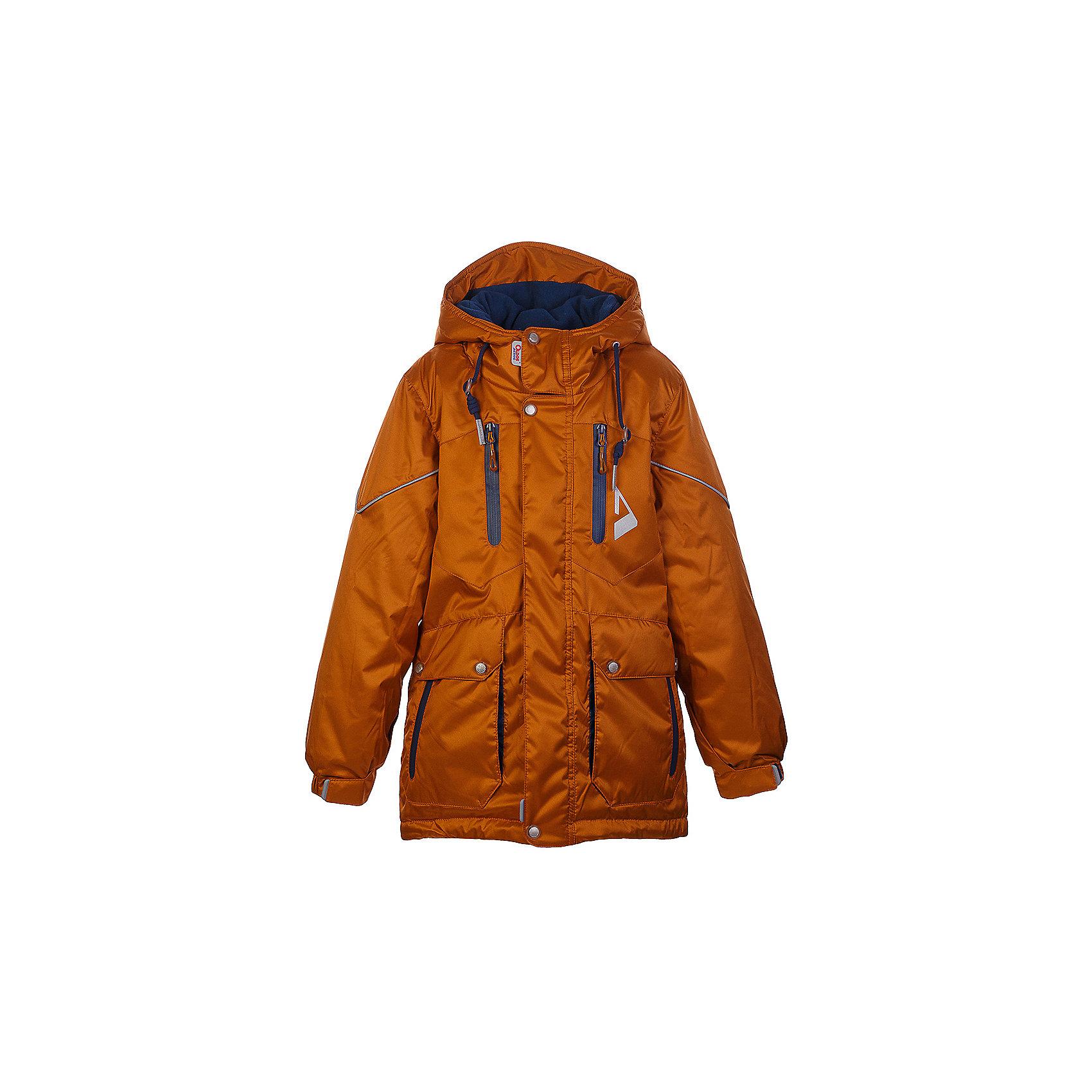 Куртка Франц OLDOS для мальчикаВерхняя одежда<br>Характеристики товара:<br><br>• цвет: оранжевый<br>• состав ткани: полиэстер, Teflon<br>• подкладка: флис<br>• утеплитель: Hollofan pro<br>• сезон: зима<br>• мембранное покрытие<br>• температурный режим: от -30 до +5<br>• водонепроницаемость: 5000 мм <br>• паропроницаемость: 5000 г/м2<br>• плотность утеплителя: 200 г/м2<br>• застежка: молния<br>• капюшон: без меха<br>• страна бренда: Россия<br>• страна изготовитель: Россия<br><br>Мембранная детская куртка от бренда Oldos теплая и легкая благодаря инновационным материалам. Стильная парка для мальчика дополнена элементами, помогающими отрегулировать её размер под рост ребенка. Детская зимняя куртка создана с применением мембранной технологии, она рассчитана даже на сильные морозы. <br><br>Куртку Франц Oldos (Олдос) для мальчика можно купить в нашем интернет-магазине.<br><br>Ширина мм: 356<br>Глубина мм: 10<br>Высота мм: 245<br>Вес г: 519<br>Цвет: оранжевый<br>Возраст от месяцев: 60<br>Возраст до месяцев: 72<br>Пол: Мужской<br>Возраст: Детский<br>Размер: 116,146,122,128,134,140,146,152,158<br>SKU: 7015762