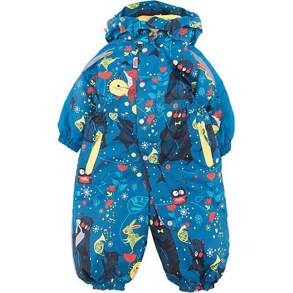 Комбинезон Джаз-Бэнд OLDOS ACTIVE для мальчикаВерхняя одежда<br>Характеристики товара:<br><br>• цвет: голубой<br>• состав ткани: полиэстер, Teflon<br>• подкладка: флис, гладкий полиэстер<br>• утеплитель: Hollofan pro<br>• сезон: зима<br>• мембрана<br>• температурный режим: от -30 до +5<br>• водонепроницаемость: 5000 мм <br>• паропроницаемость: 5000 г/м2<br>• плотность утеплителя: 200 г/м2<br>• застежка: молния<br>• капюшон: без меха, съемный<br>• силиконовые штрипки<br>• в комплекте флисовый комбинезон<br>• страна бренда: Россия<br>• страна изготовитель: Россия<br><br>Теплый комбинезон для ребенка продается в комплекте с мягким флисовым комбинезоном. В детском комбинезоне гипоаллергенный утеплитель - он тоньше обычного, но лучше удерживает тепло. Мембранный комбинезон Oldos рассчитан даже на сильные морозы. Непромокаемый и непродуваемый верх комбинезона создает комфортный для ребенка микроклимат. <br><br>Внешнее покрытие Teflon - защита от воды и грязи, дополнительная износостойкость, за изделием легко ухаживать. Мембрана 5000/5000 обеспечивает водонепроницаемость, отвод влаги и комфортную атмосферу внутри. Гипоаллергенный утеплитель HOLLOFAN PRO 200 г/м2 тоньше обычного, но эффективнее удерживает тепло. Подкладка - флис, в рукавах и брючинах - гладкий полиэстер. <br><br>Комбинезон принтованный, силуэт приталенный, карманы на молнии, светоотражающие элементы, нашивка - потеряшка. Изделие прекрасно защитит от ветра и снега благодаря съемному капюшону с регулировкой объема, воротнику - стойке, ветрозащитным планкам и резинкам по краю рукавов и брючин. Силиконовые штрипки не позволят брючинам задираться во время активных игр. <br><br>В комплекте - флисовый комбинезон. Флис имеет двустороннюю антипиллинговую обработку, что позволяет надолго сохранить внешний вид и его основные характеристики.<br><br>Комбинезон Джаз-Бэнд Oldos (Олдос) для мальчика можно купить в нашем интернет-магазине.<br>Ширина мм: 356; Глубина мм: 10; Высота мм: 245; Вес г: 519; Цвет: голубой; Возраст