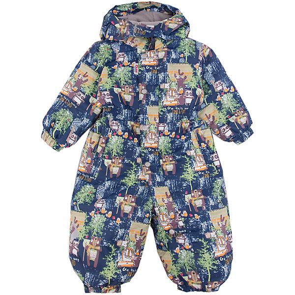 Комбинезон Мишутка OLDOS ACTIVE для мальчикаВерхняя одежда<br>Характеристики товара:<br><br>• цвет: синий<br>• состав ткани: полиэстер, Teflon<br>• подкладка: флис, гладкий полиэстер<br>• утеплитель: Hollofan pro<br>• сезон: зима<br>• мембрана<br>• температурный режим: от -30 до +5<br>• водонепроницаемость: 5000 мм <br>• паропроницаемость: 5000 г/м2<br>• плотность утеплителя: 200 г/м2<br>• застежка: молния<br>• капюшон: без меха, съемный<br>• силиконовые штрипки<br>• в комплекте флисовый комбинезон<br>• страна бренда: Россия<br>• страна изготовитель: Россия<br><br>Мембранный комбинезон Oldos рассчитан даже на сильные морозы. Непромокаемый и непродуваемый верх комбинезона создает комфортный для ребенка микроклимат. Теплый комбинезон для ребенка продается в комплекте с мягким флисовым комбинезоном. В детском комбинезоне гипоаллергенный утеплитель - он тоньше обычного, но лучше удерживает тепло. <br><br>Внешнее покрытие Teflon - защита от воды и грязи, дополнительная износостойкость, за изделием легко ухаживать. Мембрана 5000/5000 обеспечивает водонепроницаемость, отвод влаги и комфортную атмосферу внутри. Гипоаллергенный утеплитель HOLLOFAN PRO 200 г/м2 тоньше обычного, но эффективнее удерживает тепло. Подкладка - флис, в рукавах и брючинах - гладкий полиэстер. <br><br>Комбинезон принтованный, силуэт приталенный, карманы на молнии, светоотражающие элементы, нашивка - потеряшка. Изделие прекрасно защитит от ветра и снега благодаря съемному капюшону с регулировкой объема, воротнику - стойке, ветрозащитным планкам и резинкам по краю рукавов и брючин. Силиконовые штрипки не позволят брючинам задираться во время активных игр. <br><br>В комплекте - флисовый комбинезон. Флис имеет двустороннюю антипиллинговую обработку, что позволяет надолго сохранить внешний вид и его основные характеристики. <br><br>Комбинезон Мишутка Oldos (Олдос) для мальчика можно купить в нашем интернет-магазине.<br>Ширина мм: 356; Глубина мм: 10; Высота мм: 245; Вес г: 519; Цвет: синий; Возраст от мес