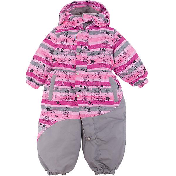 Комбинезон Радужный OLDOS ACTIVE для девочкиВерхняя одежда<br>Характеристики товара:<br><br>• цвет: розовый<br>• состав ткани: полиэстер, Teflon<br>• подкладка: флис, гладкий полиэстер<br>• утеплитель: Hollofan pro<br>• сезон: зима<br>• мембрана<br>• температурный режим: от -30 до +5<br>• водонепроницаемость: 5000 мм <br>• паропроницаемость: 5000 г/м2<br>• плотность утеплителя: 200 г/м2<br>• застежка: молния<br>• капюшон: без меха, съемный<br>• силиконовые штрипки<br>• в комплекте флисовый комбинезон<br>• страна бренда: Россия<br>• страна изготовитель: Россия<br><br>Зимний комбинезон выделяется ярким декором. Детский комбинезон для девочки дополнен элементами, помогающими защитить ребенка от попадания снега внутрь. Детский зимний комбинезон создан с применением мембранной технологии, поэтому рассчитан и на очень холодную погоду. В комплекте - теплый флисовый комбинезон.<br><br>Внешнее покрытие Teflon - защита от воды и грязи, дополнительная износостойкость, за изделием легко ухаживать. Мембрана 5000/5000 обеспечивает водонепроницаемость, отвод влаги и комфортную атмосферу внутри. Гипоаллергенный утеплитель HOLLOFAN PRO 200 г/м2 тоньше обычного, но эффективнее удерживает тепло. Подкладка - флис, в рукавах и брючинах - гладкий полиэстер. Комбинезон принтованный, силуэт приталенный, карманы на молнии, светоотражающие элементы, нашивка - потеряшка. <br><br>Изделие прекрасно защитит от ветра и снега благодаря съемному капюшону с регулировкой объема, воротнику - стойке, ветрозащитным планкам и резинкам по краю рукавов и брючин. Силиконовые штрипки не позволят брючинам задираться во время активных игр. В комплекте - флисовый комбинезон. Флис имеет двустороннюю антипиллинговую обработку, что позволяет надолго сохранить внешний вид и его основные характеристики. <br><br>Комбинезон Радужный Oldos (Олдос) для девочки можно купить в нашем интернет-магазине.<br>Ширина мм: 356; Глубина мм: 10; Высота мм: 245; Вес г: 519; Цвет: розовый; Возраст от месяцев: 12; Возраст до месяцев: 