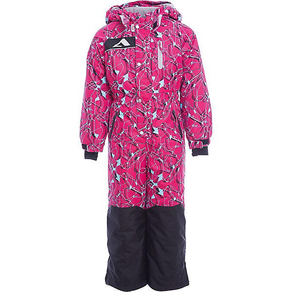 Комбинезон Ариил OLDOS ACTIVE для девочкиВерхняя одежда<br>Характеристики товара:<br><br>• цвет: малиновый<br>• состав ткани: полиэстер, Teflon<br>• подкладка: флис, гладкий полиэстер<br>• утеплитель: Hollofan pro<br>• сезон: зима<br>• мембрана<br>• температурный режим: от -30 до +5<br>• водонепроницаемость: 5000 мм <br>• паропроницаемость: 5000 г/м2<br>• плотность утеплителя: 200 г/м2<br>• застежка: молния<br>• капюшон: без меха, съемный<br>• силиконовые штрипки<br>• страна бренда: Россия<br>• страна изготовитель: Россия<br><br>Зимний комбинезон дополнен резинкой в талии для лучшей посадки. Детский комбинезон для девочки дополнен элементами, помогающими защитить ребенка от попадания снега внутрь. Детский зимний комбинезон создан с применением мембранной технологии, поэтому рассчитан и на очень холодную погоду. В комплекте - теплый флисовый комбинезон.<br><br>Внешнее покрытие Teflon - защита от воды и грязи, за изделием легко ухаживать. Мембрана 5000/5000 обеспечивает водонепроницаемость, отвод влаги и комфортную атмосферу внутри. Гипоаллергенный утеплитель HOLLOFAN PRO 200 г/м2 тоньше обычного, но эффективнее удерживает тепло. Подкладка – флис, в рукавах и брючинах – гладкий полиэстер. Флис имеет двустороннюю антипиллинговую обработку, что позволяет надолго сохранить внешний вид и его основные характеристики. <br><br>Комбинезон принтованный, силуэт приталенный, карманы на молнии, светоотражающие элементы, нашивка – потеряшка. Изделие прекрасно защитит от ветра и снега благодаря съемному капюшону с регулировкой объема, воротнику - стойке, ветрозащитным планкам, снего - ветрозащитным муфтам с антискользящей резинкой. Манжеты регулируются по ширине липучкой, есть дополнительные мягкие манжеты с отверстием для большого пальца, силиконовые штрипки.<br><br>Комбинезон Ариил Oldos (Олдос) для девочки можно купить в нашем интернет-магазине.<br><br>Ширина мм: 356<br>Глубина мм: 10<br>Высота мм: 245<br>Вес г: 519<br>Цвет: розовый<br>Возраст от месяцев: 24<br>Возраст до месяце