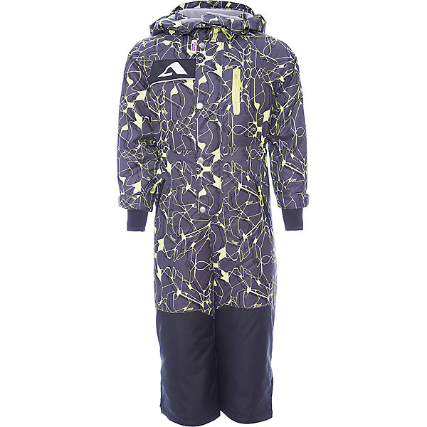Комбинезон Ариил OLDOS ACTIVE для мальчикаВерхняя одежда<br>Характеристики товара:<br><br>• цвет: серый<br>• состав ткани: полиэстер, Teflon<br>• подкладка: флис, гладкий полиэстер<br>• утеплитель: Hollofan pro<br>• сезон: зима<br>• мембрана<br>• температурный режим: от -30 до +5<br>• водонепроницаемость: 5000 мм <br>• паропроницаемость: 5000 г/м2<br>• плотность утеплителя: 200 г/м2<br>• застежка: молния<br>• капюшон: без меха, съемный<br>• силиконовые штрипки<br>• страна бренда: Россия<br>• страна изготовитель: Россия<br><br>Такой комбинезон для мальчика отлично защищает ребенка от попадания снега внутрь. Детский зимний комбинезон создан с применением мембранной технологии, поэтому рассчитан и на очень холодную погоду. В комплекте - теплый флисовый комбинезон. Зимний комбинезон дополнен резинкой в талии для лучшей посадки. <br><br>Внешнее покрытие Teflon - защита от воды и грязи, за изделием легко ухаживать. Мембрана 5000/5000 обеспечивает водонепроницаемость, отвод влаги и комфортную атмосферу внутри. Гипоаллергенный утеплитель HOLLOFAN PRO 200 г/м2 тоньше обычного, но эффективнее удерживает тепло. Подкладка – флис, в рукавах и брючинах – гладкий полиэстер. Флис имеет двустороннюю антипиллинговую обработку, что позволяет надолго сохранить внешний вид и его основные характеристики. <br><br>Комбинезон принтованный, силуэт приталенный, карманы на молнии, светоотражающие элементы, нашивка – потеряшка. Изделие прекрасно защитит от ветра и снега благодаря съемному капюшону с регулировкой объема, воротнику - стойке, ветрозащитным планкам, снего - ветрозащитным муфтам с антискользящей резинкой. Манжеты регулируются по ширине липучкой, есть дополнительные мягкие манжеты с отверстием для большого пальца, силиконовые штрипки.<br><br>Комбинезон Ариил Oldos (Олдос) для мальчика можно купить в нашем интернет-магазине.<br>Ширина мм: 356; Глубина мм: 10; Высота мм: 245; Вес г: 519; Цвет: серый; Возраст от месяцев: 24; Возраст до месяцев: 36; Пол: Мужской; Возраст: Детский; Размер