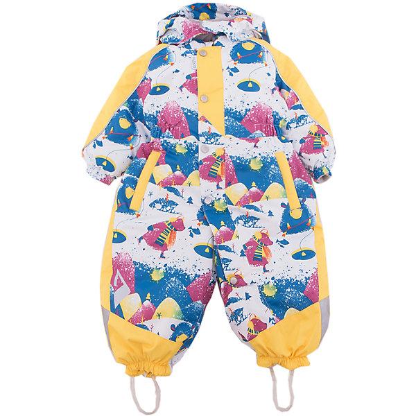 Комбинезон Вива OLDOS ACTIVEВерхняя одежда<br>Характеристики товара:<br><br>• цвет: синий<br>• состав ткани: полиэстер, Teflon<br>• подкладка: флис, гладкий полиэстер<br>• утеплитель: Hollofan pro<br>• сезон: зима<br>• мембрана<br>• температурный режим: от -30 до +5<br>• водонепроницаемость: 5000 мм <br>• паропроницаемость: 5000 г/м2<br>• плотность утеплителя: 200 г/м2<br>• застежка: молния<br>• капюшон: без меха, съемный<br>• силиконовые штрипки<br>• в комплекте флисовый комбинезон<br>• страна бренда: Россия<br>• страна изготовитель: Россия<br><br>Модный и практичный комбинезон от бренда Oldos отличается прочным верхом и теплым легким наполнителем. Этот детский комбинезон хорошо защищает от ветра и снега. Теплый комбинезон декорирован ярким принтом. Детский комбинезон благодаря мембранной технологии рассчитан даже на сильные морозы. <br><br>Внешнее покрытие Teflon - защита от воды и грязи, дополнительная износостойкость, за изделием легко ухаживать. Мембрана 5000/5000 обеспечивает водонепроницаемость, отвод влаги и комфортную атмосферу внутри. Гипоаллергенный утеплитель HOLLOFAN PRO 200 г/м2 тоньше обычного, но эффективнее удерживает тепло. Подкладка - флис, в рукавах и брючинах - гладкий полиэстер. <br><br>Комбинезон принтованный, силуэт приталенный, карманы на молнии, светоотражающие элементы, нашивка - потеряшка. Изделие прекрасно защитит от ветра и снега благодаря съемному капюшону с регулировкой объема, воротнику - стойке, ветрозащитным планкам и резинкам по краю рукавов и брючин. <br><br>Силиконовые штрипки не позволят брючинам задираться во время активных игр. В комплекте - флисовый комбинезон. Флис имеет двустороннюю антипиллинговую обработку, что позволяет надолго сохранить внешний вид и его основные характеристики.<br><br>Комбинезон Вива Oldos (Олдос) можно купить в нашем интернет-магазине.<br>Ширина мм: 356; Глубина мм: 10; Высота мм: 245; Вес г: 519; Цвет: синий; Возраст от месяцев: 18; Возраст до месяцев: 24; Пол: Унисекс; Возраст: Детский; Размер: 92,