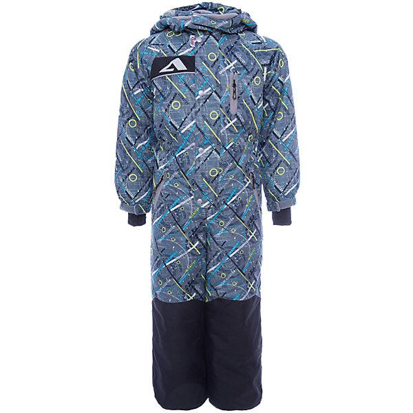 Комбинезон Джейми OLDOS ACTIVE для мальчикаВерхняя одежда<br>Характеристики товара:<br><br>• цвет: серый<br>• состав ткани: полиэстер, Teflon<br>• подкладка: флис, гладкий полиэстер<br>• утеплитель: Hollofan pro<br>• сезон: зима<br>• мембрана<br>• температурный режим: от -30 до +5<br>• водонепроницаемость: 5000 мм <br>• паропроницаемость: 5000 г/м2<br>• плотность утеплителя: 200 г/м2<br>• застежка: молния<br>• капюшон: без меха, съемный<br>• силиконовые штрипки<br>• износостойкая ткань по низу брючин<br>• страна бренда: Россия<br>• страна изготовитель: Россия<br><br>Зимний комбинезон усилен износостойкой тканью по низу брючин. Детский комбинезон благодаря мембранной технологии рассчитан даже на сильные морозы. Модный и практичный комбинезон от бренда Oldos отличается прочным верхом и теплым легким наполнителем. Этот детский комбинезон хорошо защищает от ветра и снега. <br><br>Внешнее покрытие Teflon - защита от воды и грязи, за изделием легко ухаживать. Мембрана 5000/5000 обеспечивает водонепроницаемость, отвод влаги и комфортную атмосферу внутри. Гипоаллергенный утеплитель HOLLOFAN PRO 200 г/м2 тоньше обычного, но эффективнее удерживает тепло. Подкладка – флис, в рукавах и брючинах – гладкий полиэстер. Флис имеет двустороннюю антипиллинговую обработку, что позволяет надолго сохранить внешний вид и его основные характеристики. <br><br>Комбинезон принтованный, силуэт приталенный, карманы на молнии, светоотражающие элементы, нашивка – потеряшка. Изделие прекрасно защитит от ветра и снега благодаря съемному капюшону с регулировкой объема, воротнику - стойке, ветрозащитным планкам, снего - ветрозащитным муфтам с антискользящей резинкой. Манжеты регулируются по ширине липучкой, есть дополнительные мягкие манжеты с отверстием для большого пальца, силиконовые штрипки.<br><br>Комбинезон Джейми Oldos (Олдос) для мальчика можно купить в нашем интернет-магазине.<br>Ширина мм: 356; Глубина мм: 10; Высота мм: 245; Вес г: 519; Цвет: серый; Возраст от месяцев: 36; Возраст до месяц