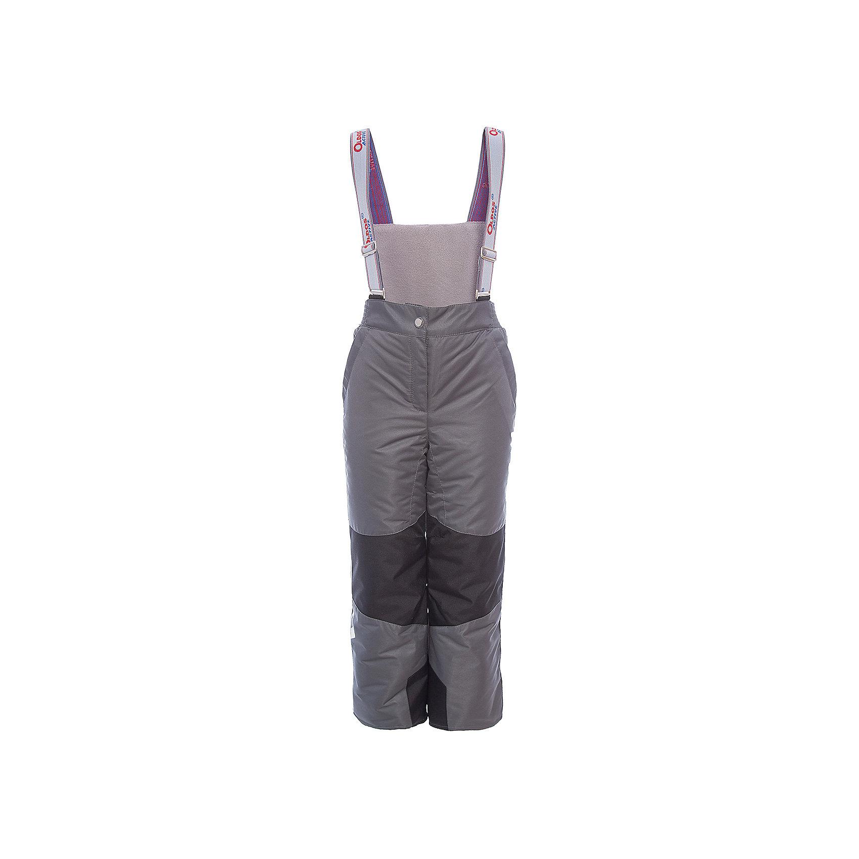 Брюки Эмма OLDOS для девочкиВерхняя одежда<br>Характеристики товара:<br><br>• цвет: серый<br>• состав ткани: полиэстер, Teflon<br>• подкладка: полиэстер<br>• утеплитель: Hollofan pro<br>• сезон: зима<br>• мембранное покрытие<br>• температурный режим: от -30 до +5<br>• водонепроницаемость: 5000 мм <br>• паропроницаемость: 5000 г/м2<br>• плотность утеплителя: 150 г/м2<br>• застежка: молния, кнопка, липучка<br>• спинка с лямками: съемные<br>• износостойкая ткань по низу брючин<br>• страна бренда: Россия<br>• страна изготовитель: Россия<br><br>Зимние брюки легко надеваются благодаря удобной застежке. Такие брюки для ребенка отлично защищают ребенка от попадания снега внутрь. Детские зимние брюки созданы с применением мембранной технологии, поэтому теплые брюки рассчитаны даже на очень холодную погоду и сильный ветер. <br><br>Брюки Эмма Oldos (Олдос) для девочки можно купить в нашем интернет-магазине.<br><br>Ширина мм: 215<br>Глубина мм: 88<br>Высота мм: 191<br>Вес г: 336<br>Цвет: серый<br>Возраст от месяцев: 132<br>Возраст до месяцев: 144<br>Пол: Женский<br>Возраст: Детский<br>Размер: 152,92,98,104,110,116,122,128,134,140,146<br>SKU: 7015867