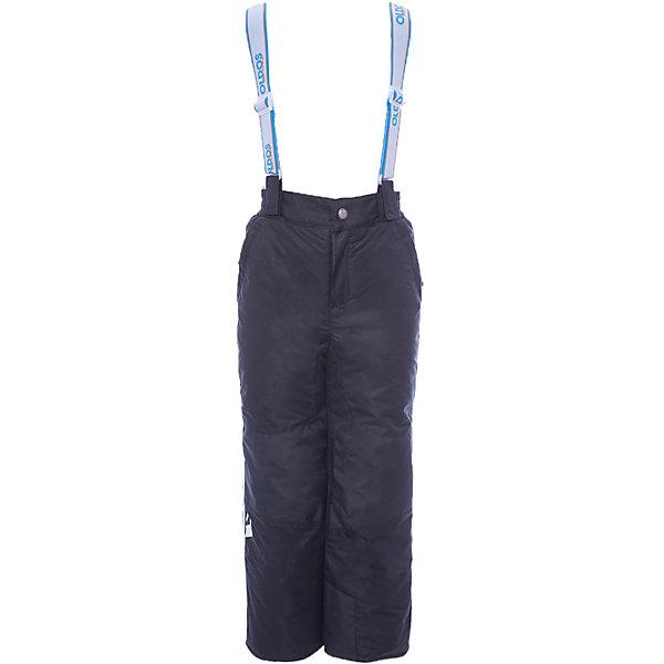 Брюки Эмма OLDOS ACTIVE для девочкиВерхняя одежда<br>Характеристики товара:<br><br>• цвет: черный<br>• состав ткани: полиэстер, Teflon<br>• подкладка: полиэстер<br>• утеплитель: Hollofan pro<br>• сезон: зима<br>• мембрана<br>• температурный режим: от -30 до +5<br>• водонепроницаемость: 5000 мм <br>• паропроницаемость: 5000 г/м2<br>• плотность утеплителя: 150 г/м2<br>• застежка: молния, кнопка, липучка<br>• спинка с лямками: съемные<br>• износостойкая ткань по низу брючин<br>• страна бренда: Россия<br>• страна изготовитель: Россия<br><br>Черные зимние брюки усилены износостойкой тканью по низу брючин. Детские брюки благодаря мембранной технологии рассчитаны даже на сильные морозы. Брюки для детей от бренда Oldos отличаются прочным верхом и теплым легким наполнителем. Детские брюки хорошо защищают от ветра и снега.<br><br>Внешнее покрытие Teflon - защита от воды и грязи, дополнительная износостойкость, за изделием легко ухаживать. Мембрана 5000/5000 обеспечивает водонепроницаемость и отвод влаги. Гипоаллергенный утеплитель HOLLOFAN PRO 150 г/м2 эффективно сохраняет тепло, не впитывает запахи и влагу, легкий и простой в уходе. Подкладка - полиэстер. Широкие эластичные подтяжки регулируются по длине. <br><br>Спинка с флисовой подкладкой для дополнительной защиты от холода. При необходимости подтяжки и спинку можно отстегнуть. Пояс с резиновой вставкой для комфортного ношения. Муфта с антискользящей резинкой защитит от ветра и снега, брючины не задерутся во время активных игр. Карманы на молнии и усиления в местах особого износа. <br><br>Брюки Эмма Oldos (Олдос) для девочки можно купить в нашем интернет-магазине.<br>Ширина мм: 215; Глубина мм: 88; Высота мм: 191; Вес г: 336; Цвет: черный; Возраст от месяцев: 18; Возраст до месяцев: 24; Пол: Женский; Возраст: Детский; Размер: 92,98,104,110,116,122,128,134,140,146,152; SKU: 7015881;