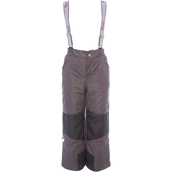 Брюки Вэйл OLDOS ACTIVE для мальчикаВерхняя одежда<br>Характеристики товара:<br><br>• цвет: синий<br>• состав ткани: полиэстер, Teflon<br>• подкладка: полиэстер<br>• утеплитель: Hollofan pro<br>• сезон: зима<br>• мембрана<br>• температурный режим: от -30 до +5<br>• водонепроницаемость: 5000 мм <br>• паропроницаемость: 5000 г/м2<br>• плотность утеплителя: 150 г/м2<br>• застежка: молния, кнопка, липучка<br>• спинка с лямками: съемные<br>• износостойкая ткань по низу брючин<br>• страна бренда: Россия<br>• страна изготовитель: Россия<br><br>Детские зимние брюки легко надеваются благодаря удобной застежке. Такие брюки для ребенка отлично защищают ребенка от попадания снега внутрь. Такие детские зимние брюки созданы с применением мембранной технологии, поэтому теплые брюки рассчитаны даже на очень холодную погоду и сильный ветер. <br><br>Внешнее покрытие Teflon - защита от воды и грязи, дополнительная износостойкость, за изделием легко ухаживать. Мембрана 5000/5000 обеспечивает водонепроницаемость и отвод влаги. Гипоаллергенный утеплитель HOLLOFAN PRO 150 г/м2 эффективно сохраняет тепло, не впитывает запахи и влагу, легкий и простой в уходе. Подкладка - полиэстер. <br><br>Широкие эластичные подтяжки регулируются по длине. Спинка с флисовой подкладкой для дополнительной защиты от холода. При необходимости подтяжки и спинку можно отстегнуть. Пояс с резиновой вставкой для комфортного ношения. Карманы на молнии и усиления в местах особого износа. Муфта с антискользящей резинкой защитит от ветра и снега, брючины не задерутся во время активных игр.<br><br>Брюки Вэйл Oldos (Олдос) для мальчика можно купить в нашем интернет-магазине.<br>Ширина мм: 215; Глубина мм: 88; Высота мм: 191; Вес г: 336; Цвет: коричневый; Возраст от месяцев: 132; Возраст до месяцев: 144; Пол: Мужской; Возраст: Детский; Размер: 152,146,140,134,128,122,116,110,104,98,92; SKU: 7015906;
