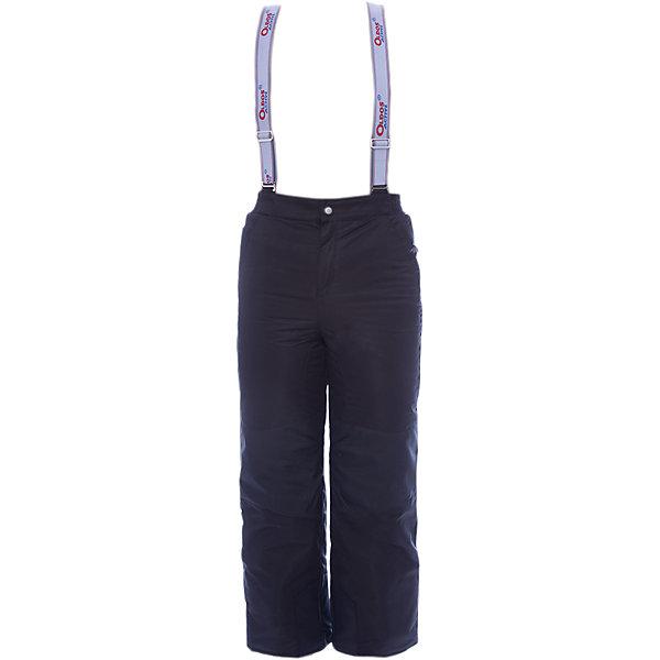 Брюки Вэйл OLDOS ACTIVE для мальчикаВерхняя одежда<br>Характеристики товара:<br><br>• цвет: черный<br>• состав ткани: полиэстер, Teflon<br>• подкладка: полиэстер<br>• утеплитель: Hollofan pro<br>• сезон: зима<br>• мембрана<br>• температурный режим: от -30 до +5<br>• водонепроницаемость: 5000 мм <br>• паропроницаемость: 5000 г/м2<br>• плотность утеплителя: 150 г/м2<br>• застежка: молния, кнопка, липучка<br>• спинка с лямками: съемные<br>• износостойкая ткань по низу брючин<br>• страна бренда: Россия<br>• страна изготовитель: Россия<br><br>Практичные зимние брюки усилены износостойкой тканью по низу брючин. Детские брюки благодаря мембранной технологии рассчитаны даже на сильные морозы. Брюки для детей от бренда Oldos отличаются прочным верхом и теплым легким наполнителем. Детские брюки хорошо защищают от ветра и снега.<br><br>Внешнее покрытие Teflon - защита от воды и грязи, дополнительная износостойкость, за изделием легко ухаживать. Мембрана 5000/5000 обеспечивает водонепроницаемость и отвод влаги. Гипоаллергенный утеплитель HOLLOFAN PRO 150 г/м2 эффективно сохраняет тепло, не впитывает запахи и влагу, легкий и простой в уходе. Подкладка - полиэстер. <br><br>Широкие эластичные подтяжки регулируются по длине. Спинка с флисовой подкладкой для дополнительной защиты от холода. При необходимости подтяжки и спинку можно отстегнуть. Пояс с резиновой вставкой для комфортного ношения. Карманы на молнии и усиления в местах особого износа. Муфта с антискользящей резинкой защитит от ветра и снега, брючины не задерутся во время активных игр.<br><br>Брюки Вэйл Oldos (Олдос) для мальчика можно купить в нашем интернет-магазине.<br><br>Ширина мм: 215<br>Глубина мм: 88<br>Высота мм: 191<br>Вес г: 336<br>Цвет: черный<br>Возраст от месяцев: 84<br>Возраст до месяцев: 96<br>Пол: Мужской<br>Возраст: Детский<br>Размер: 128,140,134<br>SKU: 7015939