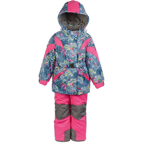 Комплект: куртка и полукомбинезон Дазирэ OLDOS ACTIVE для девочкиВерхняя одежда<br>Характеристики товара:<br><br>• цвет: серый<br>• комплектация: куртка и полукомбинезон<br>• состав ткани: полиэстер, Teflon<br>• подкладка: флис<br>• утеплитель: Hollofan pro<br>• сезон: зима<br>• мембрана<br>• температурный режим: от -30 до +5<br>• водонепроницаемость: 5000 мм <br>• паропроницаемость: 5000 г/м2<br>• плотность утеплителя: куртка - 200 г/м2, полукомбинезон - 150 г/м2<br>• застежка: молния<br>• капюшон: без меха, съемный<br>• полукомбинезон усилен износостойкими вставками<br>• страна бренда: Россия<br>• страна изготовитель: Россия<br><br>Этот мембранный комплект для девочки дополнен элементами, помогающими подогнать его размер под ребенка. Детский комплект благодаря мембранной технологии рассчитан даже на сильные морозы. Стильный зимний комплект от бренда Oldos разработан специально для детей. <br><br>Внешнее покрытие TEFLON - защита от воды и грязи, износостойкость, за изделием легко ухаживать. Мембрана 5000/5000 обеспечивает водонепроницаемость, одежда дышит. Гипоаллергенный утеплитель HOLLOFAN PRO  200/150 г/м2 - эффективно удерживает тепло и дарит свободу движения. Подкладка - флис, в рукавах и брючинах – гладкий полиэстер. <br><br>Карманы на молнии, внутренний карман с нашивкой-потеряшкой, пояс. Полукомбинезон приталенный. Костюм имеет светоотражающие элементы. Изделие прекрасно защитит от ветра и снега, т.к. имеет ряд особенностей. В куртке: съемный капюшон с регулировкой объема, воротник-стойка, ветрозащитные планки, снего-ветрозащитная юбка. <br><br>Манжеты на рукавах регулируются по ширине, есть эластичные манжеты с отверстием для большого пальца. Низ куртки регулируется по ширине. В полукомбинезоне: широкие эластичные регулируемые подтяжки, карманы, усиления в местах износа, защитные муфты.<br><br>Комплект: куртка и полукомбинезон Дазирэ Oldos (Олдос) для девочки можно купить в нашем интернет-магазине.<br>Ширина мм: 356; Глубина мм: 10; Высота мм: 245; Вес г: 