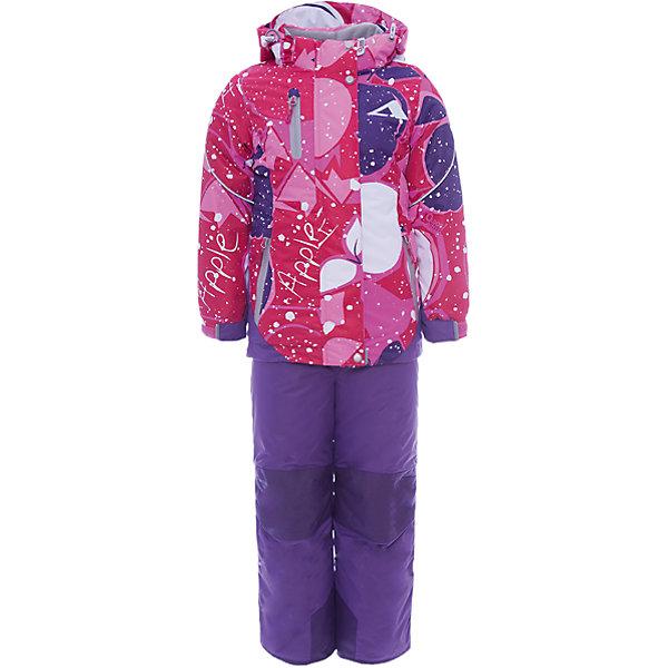 Комплект: куртка и полукомбинезон Лора OLDOS ACTIVE для девочкиВерхняя одежда<br>Характеристики товара:<br><br>• цвет: розовый<br>• комплектация: куртка и полукомбинезон<br>• состав ткани: полиэстер, Teflon<br>• подкладка: флис<br>• утеплитель: Hollofan pro<br>• сезон: зима<br>• мембрана<br>• температурный режим: от -30 до +5<br>• водонепроницаемость: 5000 мм <br>• паропроницаемость: 5000 г/м2<br>• плотность утеплителя: куртка - 200 г/м2, полукомбинезон - 150 г/м2<br>• застежка: молния<br>• капюшон: без меха, съемный<br>• полукомбинезон усилен износостойкими вставками<br>• страна бренда: Россия<br>• страна изготовитель: Россия<br><br>Мембранное покрытие такого детского комплекта - это защита от воды и грязи, износостойкость, за ним легко ухаживать. Этот мембранный комплект для девочки дополнен элементами, помогающими подогнать его размер под ребенка. Стильный зимний комплект от бренда Oldos разработан специально для детей. <br><br>Внешнее покрытие TEFLON - защита от воды и грязи, износостойкость, за изделием легко ухаживать. Мембрана 5000/5000 обеспечивает водонепроницаемость, одежда дышит. Гипоаллергенный утеплитель HOLLOFAN PRO  200/150 г/м2 - эффективно удерживает тепло и дарит свободу движения. Подкладка - флис, в рукавах и брючинах – гладкий полиэстер. <br><br>Карманы на молнии, внутренний карман с нашивкой-потеряшкой. Полукомбинезон приталенный. Костюм имеет светоотражающие элементы. Изделие прекрасно защитит от ветра и снега, т.к. имеет ряд особенностей. В куртке: съемный капюшон с регулировкой объема, воротник-стойка, ветрозащитные планки, снего-ветрозащитная юбка. <br><br>Манжеты на рукавах регулируются по ширине, есть эластичные манжеты с отверстием для большого пальца. Низ куртки регулируется по ширине. В полукомбинезоне: широкие эластичные регулируемые подтяжки, карманы, усиления в местах износа, снего-ветрозащитные муфты.<br><br>Комплект: куртка и полукомбинезон Лора Oldos (Олдос) для девочки можно купить в нашем интернет-магазине.<br><br>Ширина мм: 356