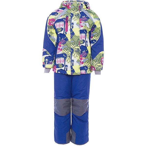 Комплект: куртка и полукомбинезон Аннабель OLDOS ACTIVE для девочкиВерхняя одежда<br>Характеристики товара:<br><br>• цвет: желтый<br>• комплектация: куртка и полукомбинезон<br>• состав ткани: полиэстер, Teflon<br>• подкладка: флис<br>• утеплитель: Hollofan pro<br>• сезон: зима<br>• мембрана<br>• температурный режим: от -30 до +5<br>• водонепроницаемость: 5000 мм <br>• паропроницаемость: 5000 г/м2<br>• плотность утеплителя: куртка - 200 г/м2, полукомбинезон - 150 г/м2<br>• застежка: молния<br>• капюшон: без меха, съемный<br>• полукомбинезон усилен износостойкими вставками<br>• страна бренда: Россия<br>• страна изготовитель: Россия<br><br>Такой мембранный комплект для девочки дополнен элементами, помогающими подогнать его размер под ребенка. Стильный зимний комплект от бренда Oldos разработан специально для детей. Мембранное покрытие такого детского комплекта - это защита от воды и грязи, износостойкость, за ним легко ухаживать. <br><br>Внешнее покрытие TEFLON - защита от воды и грязи, износостойкость, за изделием легко ухаживать. Мембрана 5000/5000 обеспечивает водонепроницаемость, одежда дышит. Гипоаллергенный утеплитель HOLLOFAN PRO  200/150 г/м2 - эффективно удерживает тепло и дарит свободу движения. Подкладка - флис, в рукавах и брючинах – гладкий полиэстер. Карманы на молнии, внутренний карман с нашивкой-потеряшкой. <br><br>Полукомбинезон приталенный. Костюм имеет светоотражающие элементы. Изделие прекрасно защитит от ветра и снега, так как имеет ряд особенностей. В куртке: съемный капюшон с регулировкой объема, воротник-стойка, ветрозащитные планки, снего-ветрозащитная юбка. Манжеты на рукавах регулируются по ширине, есть эластичные манжеты с отверстием для большого пальца. Низ куртки регулируется по ширине. В полукомбинезоне: широкие эластичные регулируемые подтяжки, карманы, усиления в местах износа, снего-ветрозащитные муфты. <br><br>Комплект: куртка и полукомбинезон Лора Oldos (Олдос) для девочки можно купить в нашем интернет-магазине.<br>Ширина мм: 356; Гл