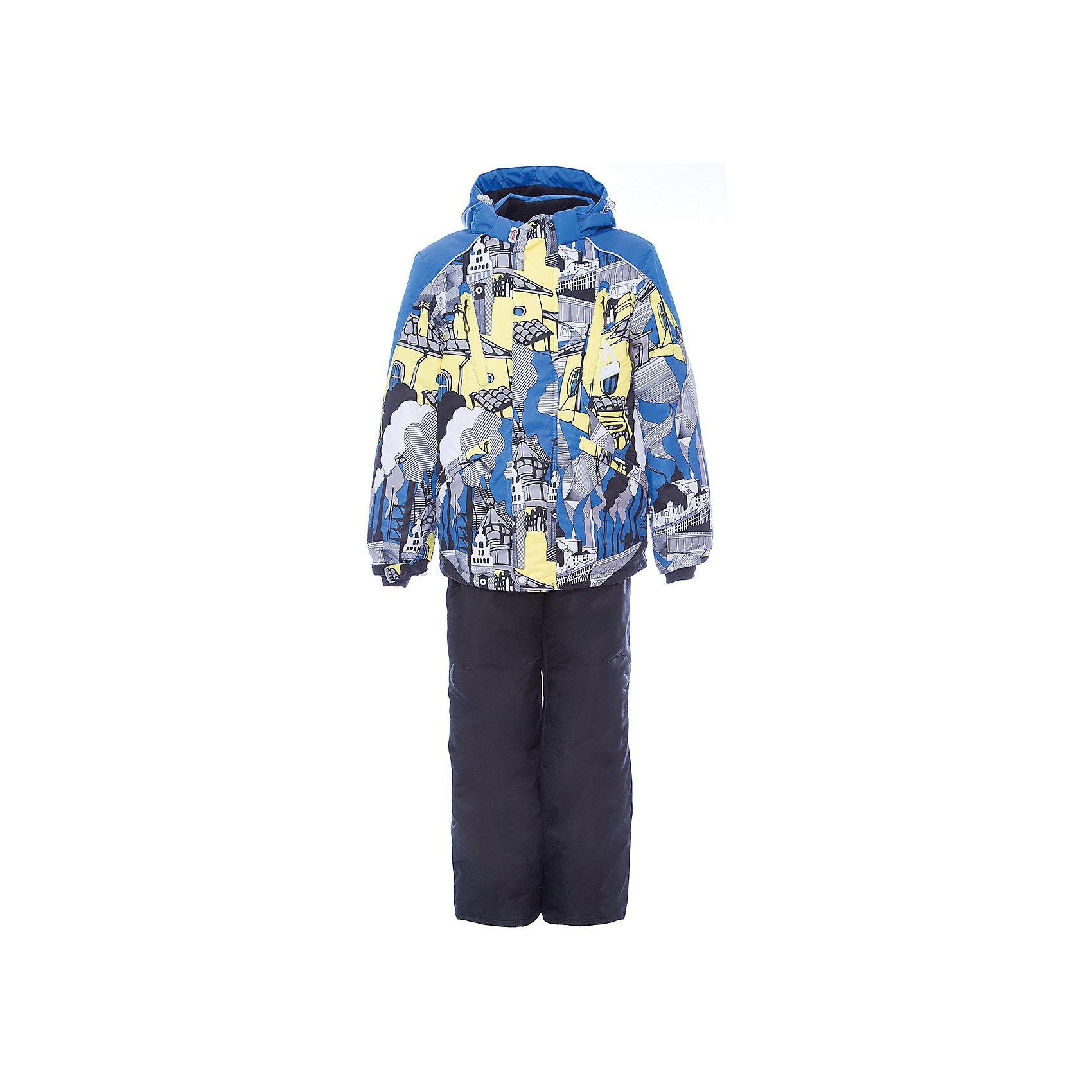 Комплект: куртка и полукомбинезон Даниэль OLDOS для мальчикаВерхняя одежда<br>Характеристики товара:<br><br>• цвет: голубой<br>• комплектация: куртка и полукомбинезон<br>• состав ткани: полиэстер, Teflon<br>• подкладка: флис<br>• утеплитель: Hollofan pro<br>• сезон: зима<br>• мембранное покрытие<br>• температурный режим: от -30 до +5<br>• водонепроницаемость: 5000 мм <br>• паропроницаемость: 5000 г/м2<br>• плотность утеплителя: куртка - 200 г/м2, полукомбинезон - 150 г/м2<br>• застежка: молния<br>• капюшон: без меха, съемный<br>• полукомбинезон усилен износостойкими вставками<br>• страна бренда: Россия<br>• страна изготовитель: Россия<br><br>Яркий мембранный комплект для мальчика дополнен удобными элементами: съемный капюшон с регулировкой объема, воротник-стойка, ветрозащитные планки, снего-ветрозащитная юбка Прочное мембранное покрытие такого детского комплекта - это защита от воды и грязи, износостойкость, за ним легко ухаживать. Теплый зимний комплект от бренда Oldos разработан специально для детей.<br><br>Комплект: куртка и полукомбинезон Даниэль Oldos (Олдос) для мальчика можно купить в нашем интернет-магазине.<br><br>Ширина мм: 356<br>Глубина мм: 10<br>Высота мм: 245<br>Вес г: 519<br>Цвет: голубой<br>Возраст от месяцев: 24<br>Возраст до месяцев: 36<br>Пол: Мужской<br>Возраст: Детский<br>Размер: 98,104,110,116,122,128,134,140,92<br>SKU: 7016083