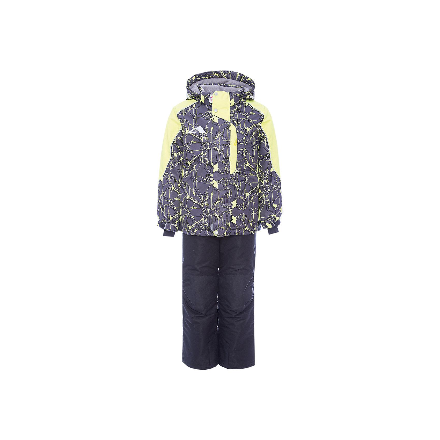Комплект: куртка и полукомбинезон Нерон OLDOS для мальчикаВерхняя одежда<br>Характеристики товара:<br><br>• цвет: серый<br>• комплектация: куртка и полукомбинезон<br>• состав ткани: полиэстер, Teflon<br>• подкладка: флис<br>• утеплитель: Hollofan pro<br>• сезон: зима<br>• мембранное покрытие<br>• температурный режим: от -30 до +5<br>• водонепроницаемость: 5000 мм <br>• паропроницаемость: 5000 г/м2<br>• плотность утеплителя: куртка - 200 г/м2, полукомбинезон - 150 г/м2<br>• застежка: молния<br>• капюшон: без меха, съемный<br>• полукомбинезон усилен износостойкими вставками<br>• страна бренда: Россия<br>• страна изготовитель: Россия<br><br>Комбинированная подкладка зимнего комплекта - флис, в рукавах и брючинах – гладкий полиэстер. Детский комплект для мальчика дополнен элементами, помогающими скорректировать размер точно под ребенка. Манжеты на рукавах этого детского комплекта регулируются по ширине, есть эластичные манжеты с отверстием для большого пальца.<br><br>Комплект: куртка и полукомбинезон Нерон Oldos (Олдос) для мальчика можно купить в нашем интернет-магазине.<br><br>Ширина мм: 356<br>Глубина мм: 10<br>Высота мм: 245<br>Вес г: 519<br>Цвет: серый<br>Возраст от месяцев: 96<br>Возраст до месяцев: 108<br>Пол: Мужской<br>Возраст: Детский<br>Размер: 134,92,98,104,110,116,122,128<br>SKU: 7016255