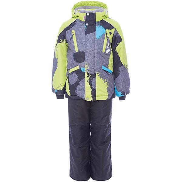 Комплект: куртка и полукомбинезон Вилсон OLDOS для мальчикаВерхняя одежда<br>Характеристики товара:<br><br>• цвет: серый<br>• комплектация: куртка и полукомбинезон<br>• состав ткани: полиэстер, Teflon<br>• подкладка: флис<br>• утеплитель: Hollofan pro<br>• сезон: зима<br>• мембранное покрытие<br>• температурный режим: от -30 до +5<br>• водонепроницаемость: 5000 мм <br>• паропроницаемость: 5000 г/м2<br>• плотность утеплителя: куртка - 200 г/м2, полукомбинезон - 150 г/м2<br>• застежка: молния<br>• капюшон: без меха, съемный<br>• полукомбинезон усилен износостойкими вставками<br>• страна бренда: Россия<br>• страна изготовитель: Россия<br><br>Манжеты на рукавах этого детского комплекта регулируются по ширине, есть эластичные манжеты с отверстием для большого пальца. Подкладка зимнего комплекта комбинированная - флис, в рукавах и брючинах – гладкий полиэстер. Детский комплект для мальчика дополнен элементами, помогающими скорректировать размер точно под ребенка. <br><br>Комплект: куртка и полукомбинезон Вилсон Oldos (Олдос) для мальчика можно купить в нашем интернет-магазине.<br><br>Ширина мм: 356<br>Глубина мм: 10<br>Высота мм: 245<br>Вес г: 519<br>Цвет: серый<br>Возраст от месяцев: 36<br>Возраст до месяцев: 48<br>Пол: Мужской<br>Возраст: Детский<br>Размер: 104,110,116,122,128,134,140,98<br>SKU: 7016270