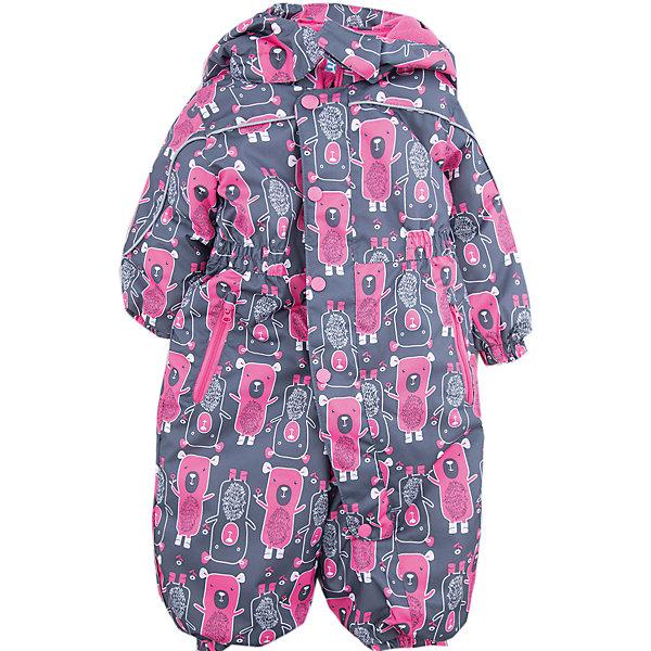 Комбинезон Дерри JICCO BY OLDOS для девочкиВерхняя одежда<br>Характеристики товара:<br><br>• цвет: серый<br>• состав ткани: полиэстер<br>• подкладка: флис, гладкий полиэстер<br>• утеплитель: Hollofan <br>• сезон: зима<br>• мембранное покрытие<br>• температурный режим: от -30 до 0<br>• водонепроницаемость: 2000 мм <br>• паропроницаемость: 2000 г/м2<br>• плотность утеплителя: 300 г/м2<br>• застежка: молния<br>• капюшон: без меха, съемный<br>• силиконовые штрипки<br>• страна бренда: Россия<br>• страна изготовитель: Россия<br><br>Теплый комбинезон дополнен резинкой в талии для лучшей посадки. Такой комбинезон для девочки отлично защищает ребенка от попадания снега внутрь. Детский зимний комбинезон создан с применением мембранной технологии, поэтому рассчитан и на очень холодную погоду. <br><br>Внешняя ткань с водо-грязеотталкивающей пропиткой. Гипоаллергенный утеплитель Hollofan плотностью 300 г/м2 хорошо сохраняет тепло и быстро сохнет. Подкладка – флис, в рукавах и брючинах - гладкий полиэстер. <br><br>Изделие прекрасно защитит от ветра и мороза, т.к. имеет ряд особенностей: съемный капюшон, воротник-стойка с флисовой вставкой и двойной ветрозащитной планкой с защитой подбородка. По талии вшита резинка для лучшей посадки. Карманы на молнии. Манжеты рукавов и низ брючин собраны на резинке, брючины оснащены съемными эластичными штрипками. Комбинезон имеет светоотражающие элементы. <br><br>Комбинезон Дерри Oldos (Олдос) для девочки можно купить в нашем интернет-магазине.<br><br>Ширина мм: 356<br>Глубина мм: 10<br>Высота мм: 245<br>Вес г: 519<br>Цвет: серый<br>Возраст от месяцев: 12<br>Возраст до месяцев: 15<br>Пол: Женский<br>Возраст: Детский<br>Размер: 80,92,86<br>SKU: 7016292