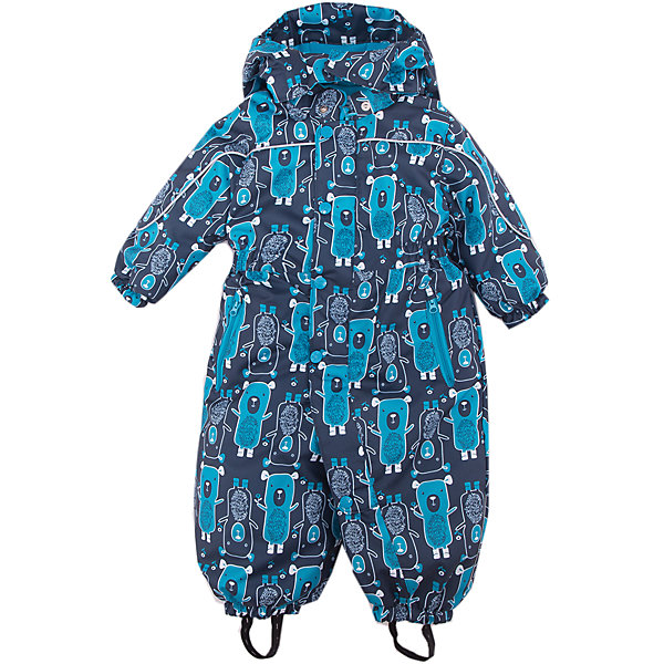 Комбинезон Дерри JICCO BY OLDOS для мальчикаВерхняя одежда<br>Характеристики товара:<br><br>• цвет: синий<br>• состав ткани: полиэстер<br>• подкладка: флис, гладкий полиэстер<br>• утеплитель: Hollofan <br>• сезон: зима<br>• мембранное покрытие<br>• температурный режим: от -30 до 0<br>• водонепроницаемость: 2000 мм <br>• паропроницаемость: 2000 г/м2<br>• плотность утеплителя: 300 г/м2<br>• застежка: молния<br>• капюшон: без меха, съемный<br>• силиконовые штрипки<br>• страна бренда: Россия<br>• страна изготовитель: Россия<br><br>В этом детском комбинезоне - гипоаллергенный утеплитель, который хорошо удерживает тепло. Мембранный верх комбинезона создает комфортный для ребенка микроклимат. Теплый комбинезон для ребенка дополнен множеством элементов для дополнительного комфорта: силиконовые штрипки, капюшон, манжеты, планка от ветра.<br><br>Внешняя ткань с водо-грязеотталкивающей пропиткой. Гипоаллергенный утеплитель Hollofan плотностью 300 г/м2 хорошо сохраняет тепло и быстро сохнет. Подкладка – флис, в рукавах и брючинах - гладкий полиэстер. <br><br>Изделие прекрасно защитит от ветра и мороза, т.к. имеет ряд особенностей: съемный капюшон, воротник-стойка с флисовой вставкой и двойной ветрозащитной планкой с защитой подбородка. По талии вшита резинка для лучшей посадки. Карманы на молнии. Манжеты рукавов и низ брючин собраны на резинке, брючины оснащены съемными эластичными штрипками. Комбинезон имеет светоотражающие элементы. <br><br>Комбинезон Дерри Oldos (Олдос) для мальчика можно купить в нашем интернет-магазине.<br>Ширина мм: 356; Глубина мм: 10; Высота мм: 245; Вес г: 519; Цвет: синий; Возраст от месяцев: 18; Возраст до месяцев: 24; Пол: Мужской; Возраст: Детский; Размер: 92,80,86; SKU: 7016296;