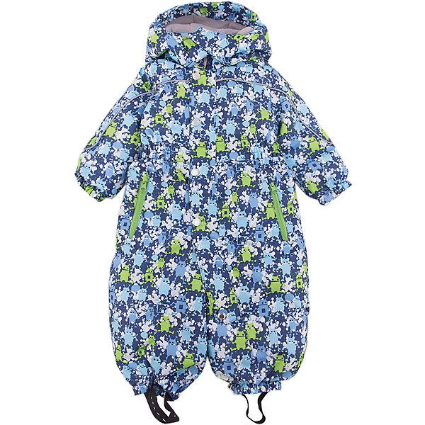 Комбинезон Санни JICCO BY OLDOS для мальчикаВерхняя одежда<br>Характеристики товара:<br><br>• цвет: синий<br>• состав ткани: полиэстер<br>• подкладка: флис, гладкий полиэстер<br>• утеплитель: Hollofan <br>• сезон: зима<br>• температурный режим: от -30 до 0<br>• водонепроницаемость: 2000 мм <br>• паропроницаемость: 2000 г/м2<br>• плотность утеплителя: 300 г/м2<br>• застежка: молния<br>• капюшон: без меха, съемный<br>• силиконовые штрипки<br>• страна бренда: Россия<br>• страна изготовитель: Россия<br><br>Зимний комбинезон дополнен съемными эластичными штрипками. Детский комбинезон благодаря мембранной технологии рассчитан даже на сильные морозы. Модный и практичный комбинезон от бренда Oldos отличается прочным верхом и теплым легким наполнителем. Этот детский комбинезон хорошо защищает от ветра и снега. <br><br>Внешняя ткань с водо-грязеотталкивающей пропиткой. Гипоаллергенный утеплитель Hollofan плотностью 300 г/м2 хорошо сохраняет тепло и быстро сохнет. Подкладка – флис, в рукавах и брючинах - гладкий полиэстер. <br><br>Изделие прекрасно защитит от ветра и мороза, т.к. имеет ряд особенностей: съемный капюшон, воротник-стойка с флисовой вставкой и двойной ветрозащитной планкой с защитой подбородка. По талии вшита резинка для лучшей посадки. Карманы на молнии. Манжеты рукавов и низ брючин собраны на резинке, брючины оснащены съемными эластичными штрипками. Комбинезон имеет светоотражающие элементы. <br><br>Комбинезон Санни Oldos (Олдос) для мальчика можно купить в нашем интернет-магазине.<br><br>Ширина мм: 356<br>Глубина мм: 10<br>Высота мм: 245<br>Вес г: 519<br>Цвет: синий<br>Возраст от месяцев: 12<br>Возраст до месяцев: 15<br>Пол: Мужской<br>Возраст: Детский<br>Размер: 80,92,86<br>SKU: 7016300