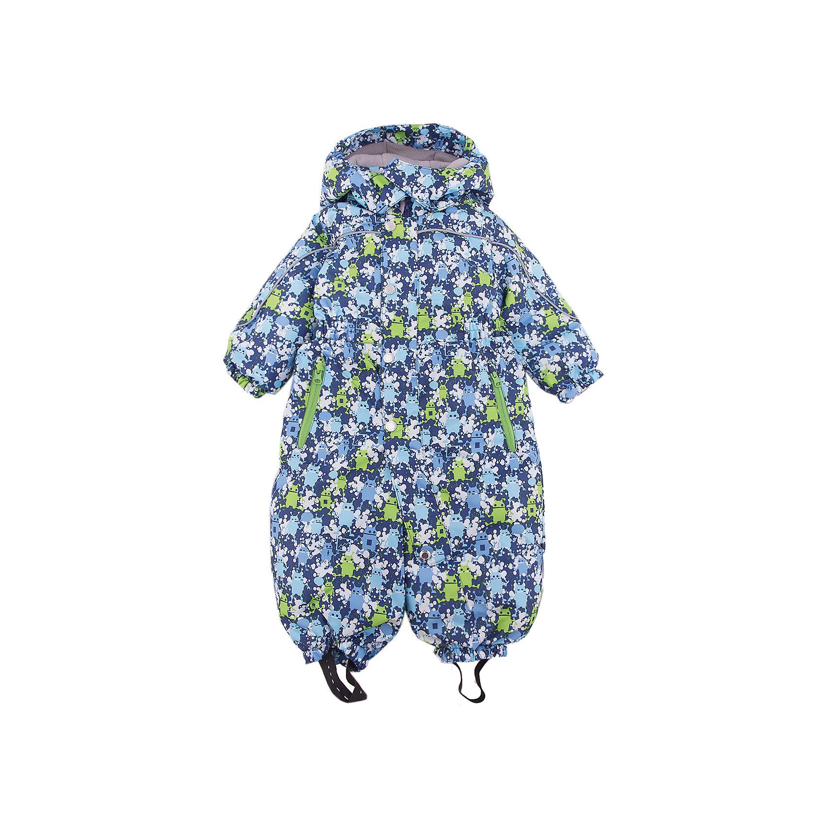Комбинезон Санни OLDOS для мальчикаВерхняя одежда<br>Характеристики товара:<br><br>• цвет: синий<br>• состав ткани: полиэстер<br>• подкладка: флис, гладкий полиэстер<br>• утеплитель: Hollofan <br>• сезон: зима<br>• мембранное покрытие<br>• температурный режим: от -30 до 0<br>• водонепроницаемость: 2000 мм <br>• паропроницаемость: 2000 г/м2<br>• плотность утеплителя: 300 г/м2<br>• застежка: молния<br>• капюшон: без меха, съемный<br>• силиконовые штрипки<br>• страна бренда: Россия<br>• страна изготовитель: Россия<br><br>Зимний комбинезон дополнен съемными эластичными штрипками. Детский комбинезон благодаря мембранной технологии рассчитан даже на сильные морозы. Модный и практичный комбинезон от бренда Oldos отличается прочным верхом и теплым легким наполнителем. Этот детский комбинезон хорошо защищает от ветра и снега. <br><br>Комбинезон Санни Oldos (Олдос) для мальчика можно купить в нашем интернет-магазине.<br><br>Ширина мм: 356<br>Глубина мм: 10<br>Высота мм: 245<br>Вес г: 519<br>Цвет: синий<br>Возраст от месяцев: 12<br>Возраст до месяцев: 18<br>Пол: Мужской<br>Возраст: Детский<br>Размер: 86,92,80<br>SKU: 7016300