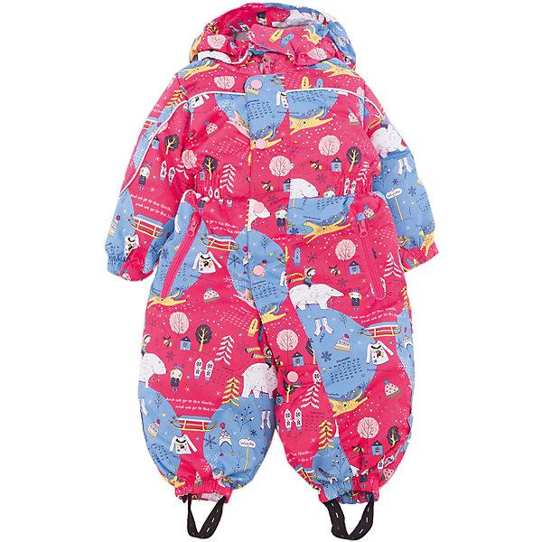 Комбинезон Арктика JICCO BY OLDOS для девочкиВерхняя одежда<br>Характеристики товара:<br><br>• цвет: розовый<br>• состав ткани: полиэстер<br>• подкладка: флис, гладкий полиэстер<br>• утеплитель: Hollofan <br>• сезон: зима<br>• температурный режим: от -30 до 0<br>• плотность утеплителя: 300 г/м2<br>• застежка: молния<br>• капюшон: без меха, съемный<br>• страна бренда: Россия<br>• страна изготовитель: Россия<br><br>Этот комбинезон для ребенка дополнен множеством элементов для дополнительного комфорта: силиконовые штрипки, капюшон, манжеты, планка от ветра. Дышащий верх комбинезона создает комфортный для ребенка микроклимат. В этом детском комбинезоне - гипоаллергенный утеплитель, который хорошо удерживает тепло. <br><br>Внешняя ткань с водо-грязеотталкивающей пропиткой. Гипоаллергенный утеплитель Hollofan плотностью 300 г/м2 хорошо сохраняет тепло и быстро сохнет. Подкладка – флис, в рукавах и брючинах - гладкий полиэстер. Изделие прекрасно защитит от ветра и мороза, т.к. имеет ряд особенностей: съемный капюшон, воротник-стойка с флисовой вставкой и двойной ветрозащитной планкой с защитой подбородка. <br><br>По талии вшита резинка для лучшей посадки. Карманы на молнии. Манжеты рукавов и низ брючин собраны на резинке, брючины оснащены съемными эластичными штрипками. Комбинезон имеет светоотражающие элементы.<br><br>Комбинезон Арктика Oldos (Олдос) для девочки можно купить в нашем интернет-магазине.<br>Ширина мм: 356; Глубина мм: 10; Высота мм: 245; Вес г: 519; Цвет: розовый; Возраст от месяцев: 12; Возраст до месяцев: 15; Пол: Женский; Возраст: Детский; Размер: 80,92,86; SKU: 7016320;